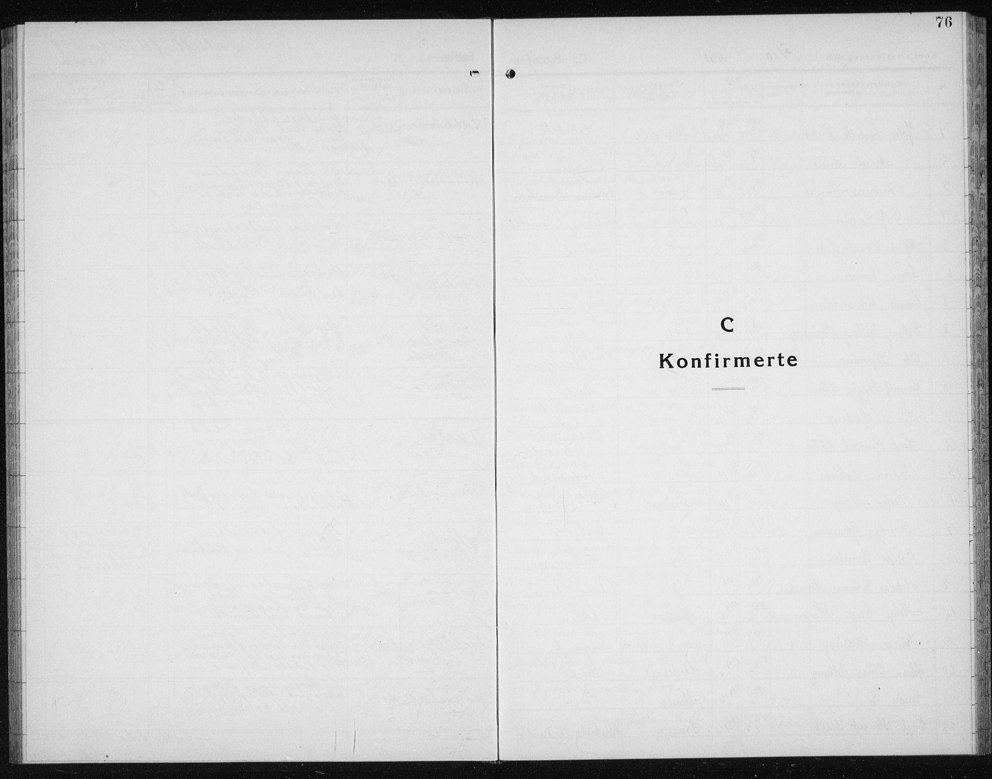 SAT, Ministerialprotokoller, klokkerbøker og fødselsregistre - Sør-Trøndelag, 607/L0327: Klokkerbok nr. 607C01, 1930-1939, s. 76
