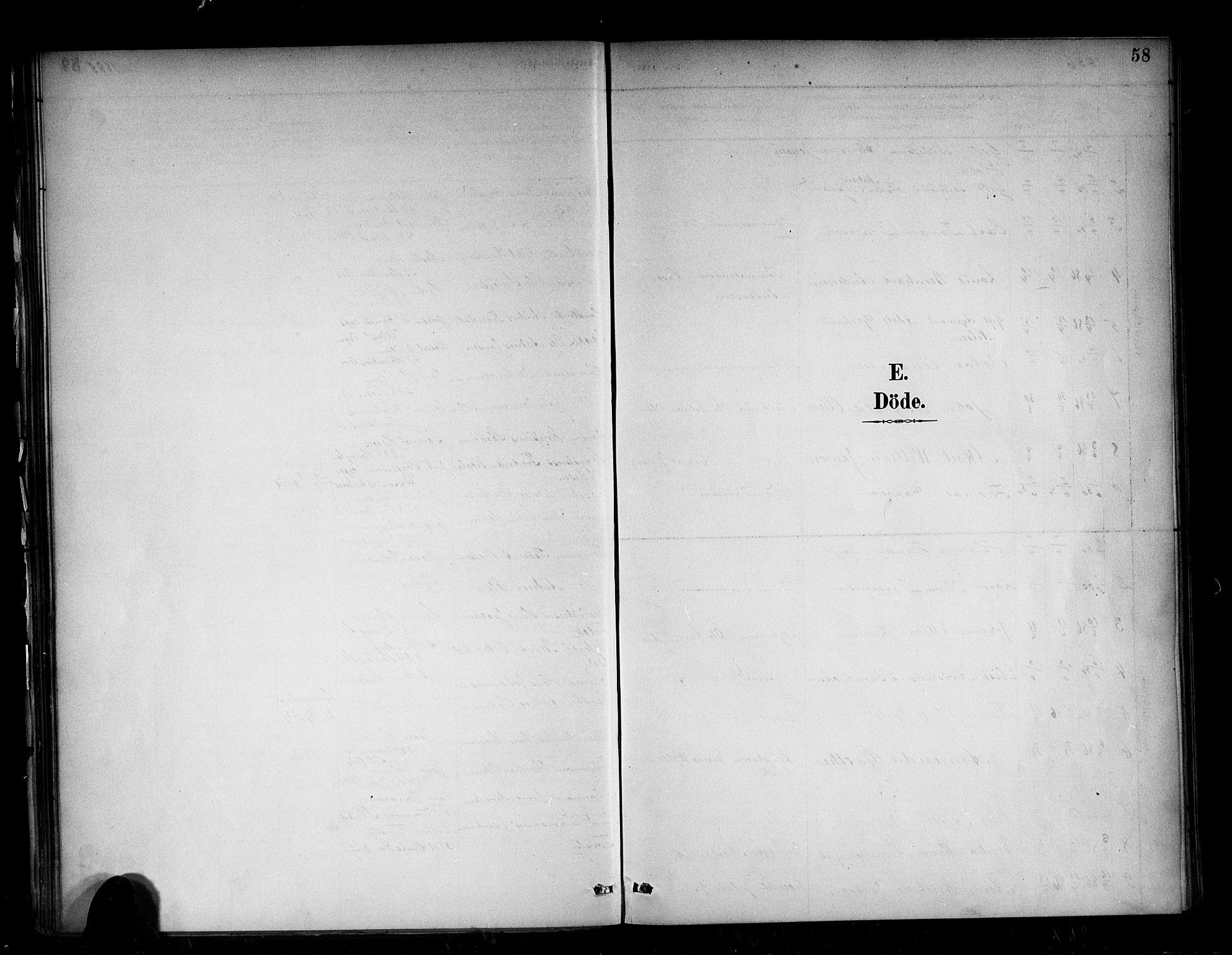 SAB, Den Norske Sjømannsmisjon i utlandet*, Ministerialbok nr. A 2, 1886-1888, s. 58
