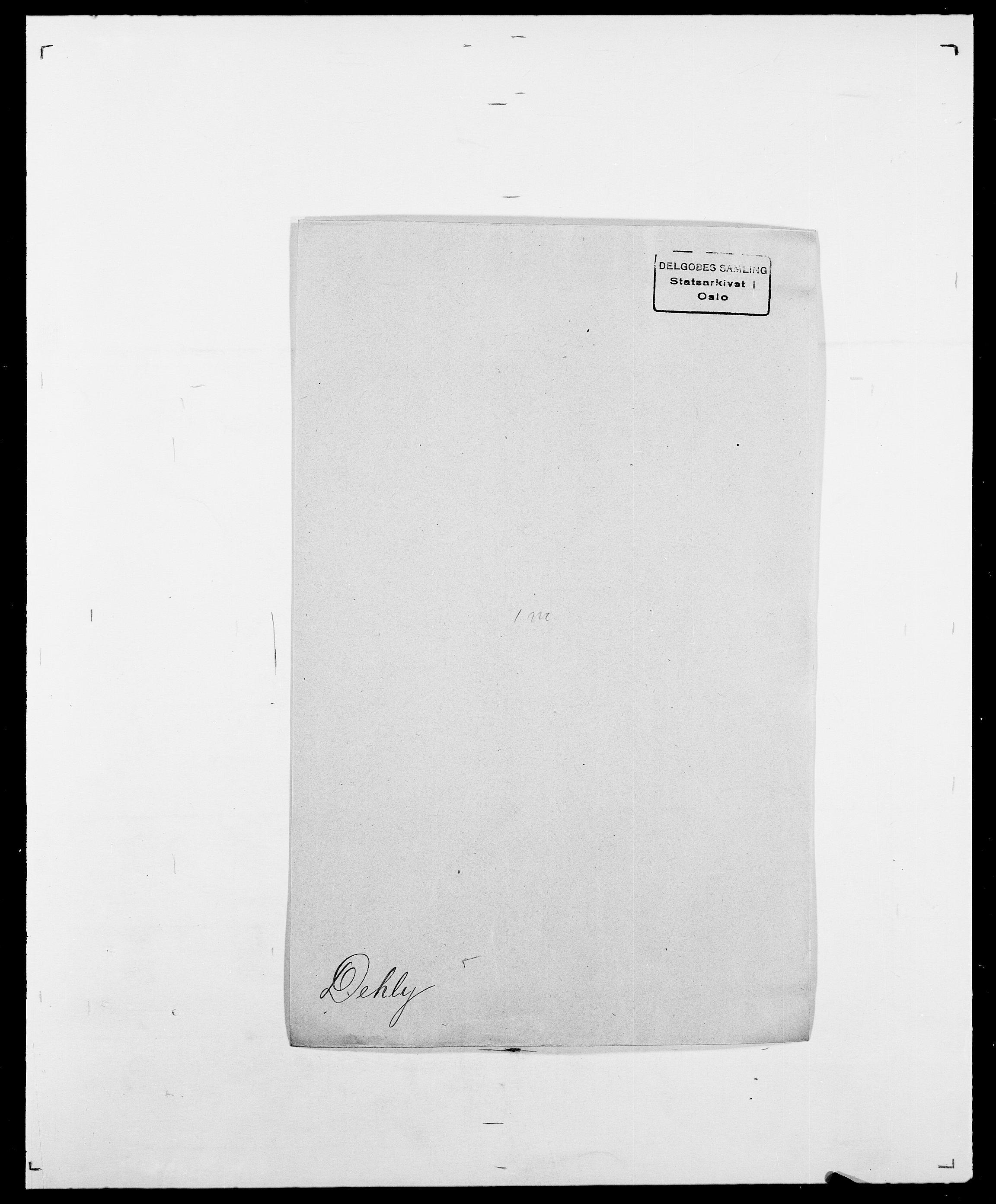 SAO, Delgobe, Charles Antoine - samling, D/Da/L0009: Dahl - v. Düren, s. 447