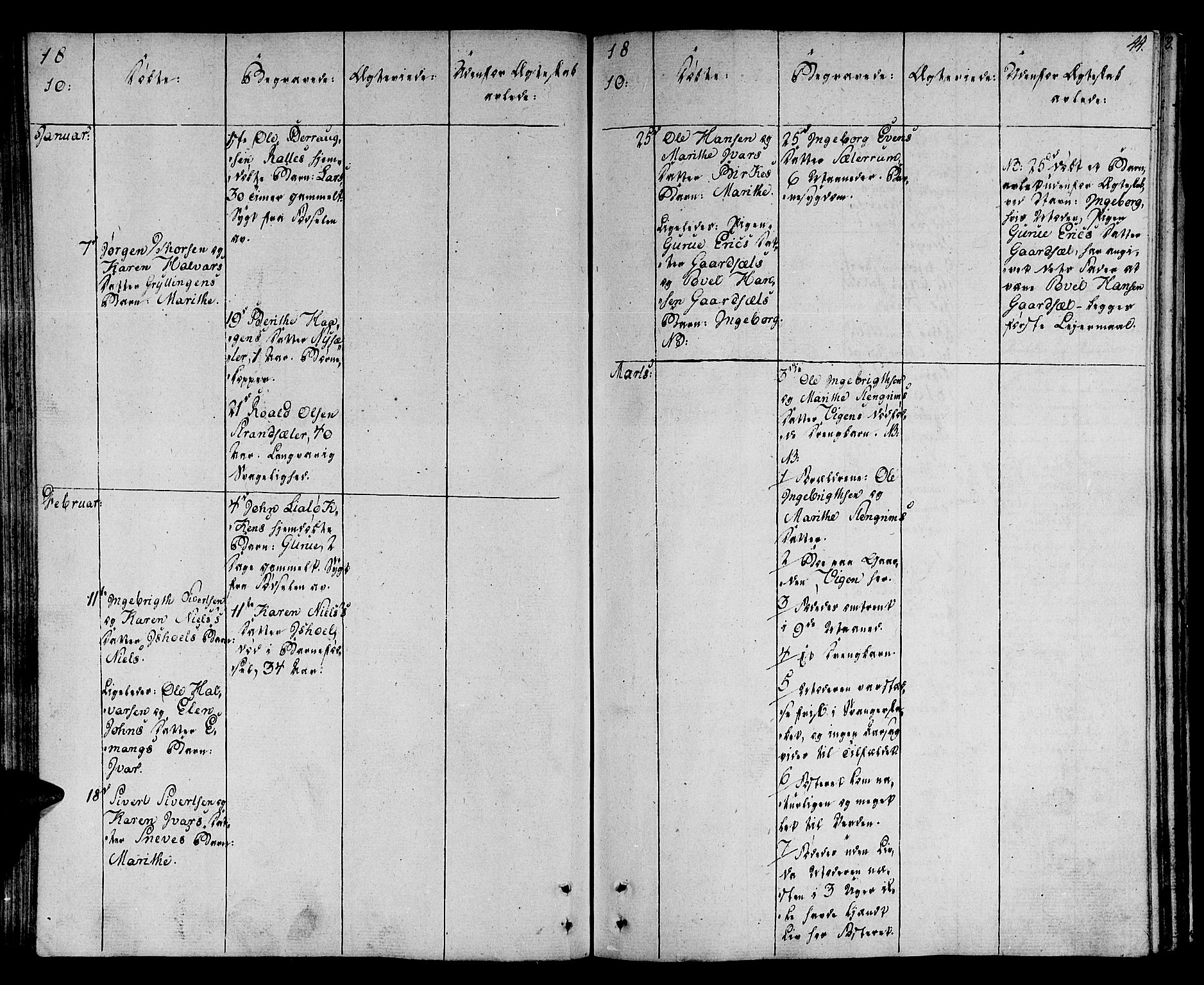 SAT, Ministerialprotokoller, klokkerbøker og fødselsregistre - Sør-Trøndelag, 678/L0894: Ministerialbok nr. 678A04, 1806-1815, s. 44