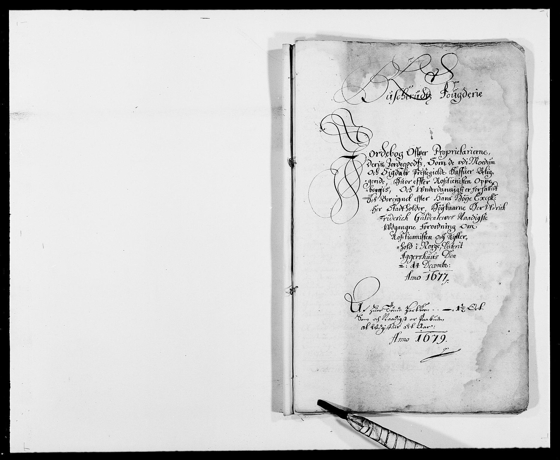 RA, Rentekammeret inntil 1814, Reviderte regnskaper, Fogderegnskap, R25/L1674: Fogderegnskap Buskerud, 1678-1681, s. 349