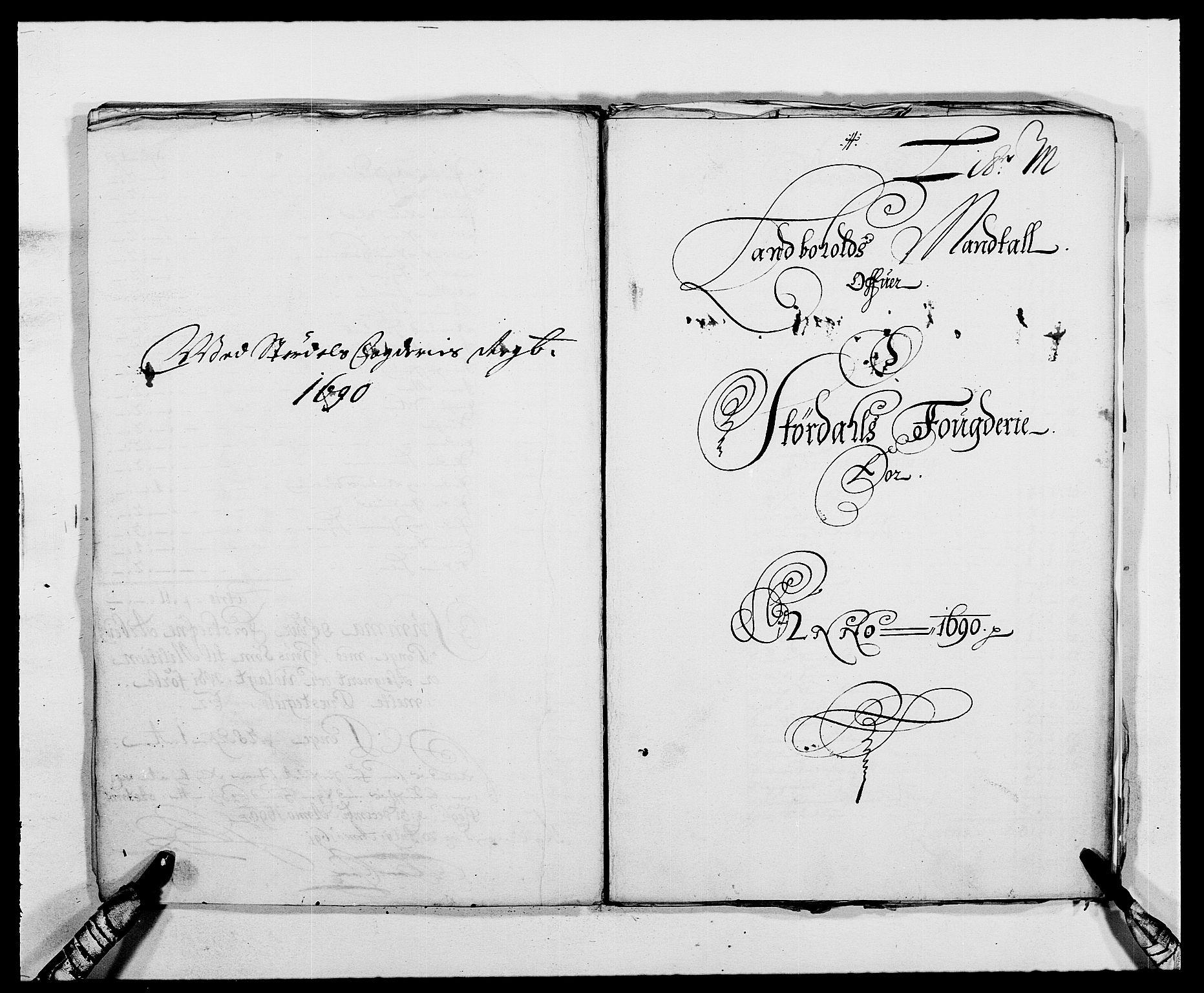 RA, Rentekammeret inntil 1814, Reviderte regnskaper, Fogderegnskap, R62/L4184: Fogderegnskap Stjørdal og Verdal, 1690-1691, s. 172
