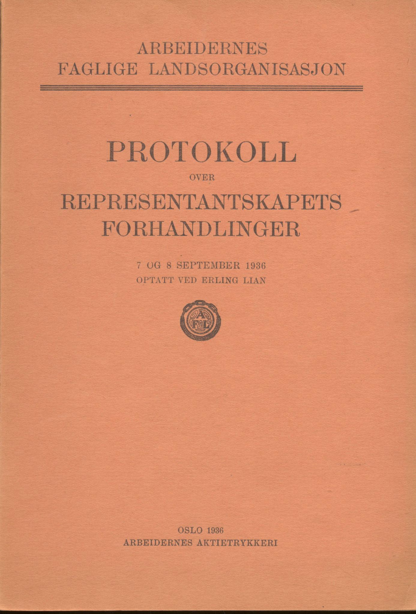 AAB, Landsorganisasjonen i Norge, 1911-1953, s. 190