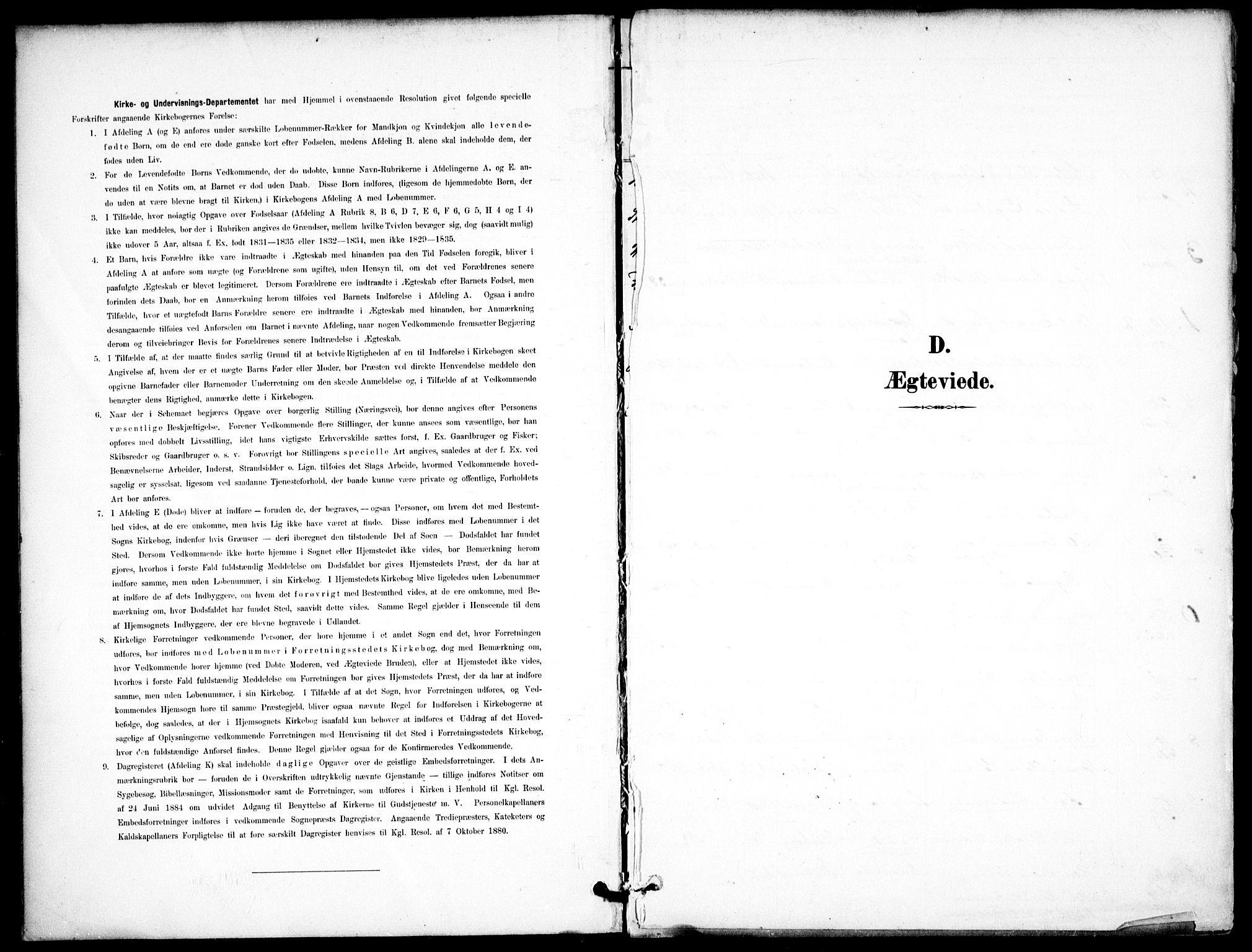 SAO, Jakob prestekontor Kirkebøker, F/Fa/L0006: Ministerialbok nr. 6, 1895-1908