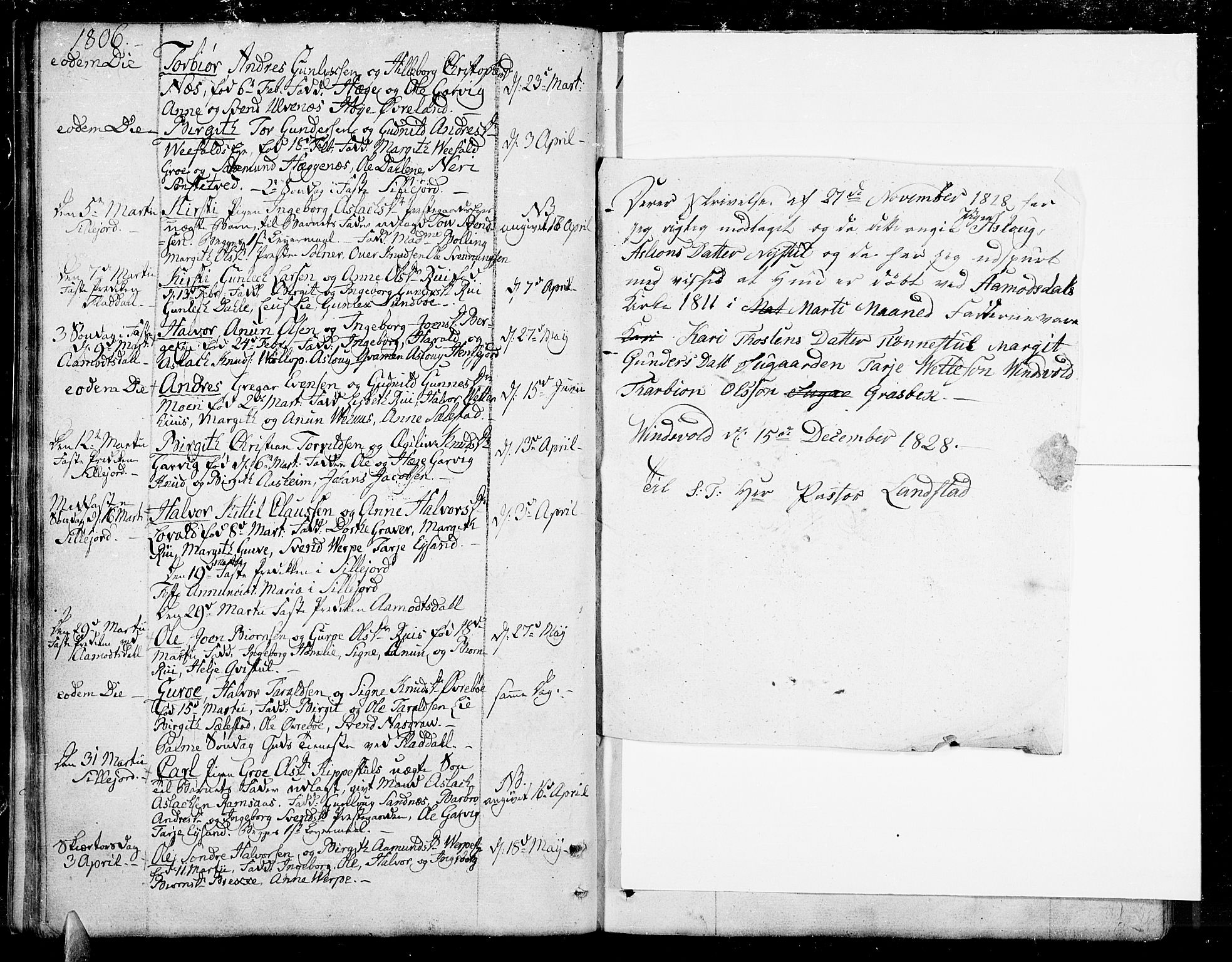 SAKO, Seljord kirkebøker, F/Fa/L0009: Ministerialbok nr. I 9, 1801-1814, s. 23