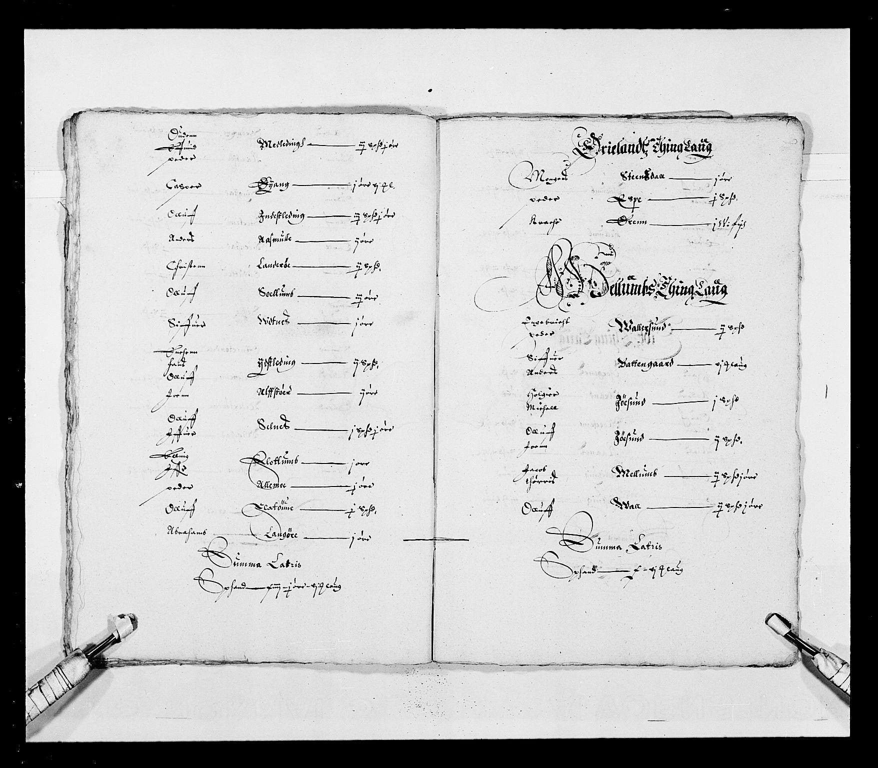 RA, Stattholderembetet 1572-1771, Ek/L0028: Jordebøker 1633-1658:, 1645-1646, s. 70