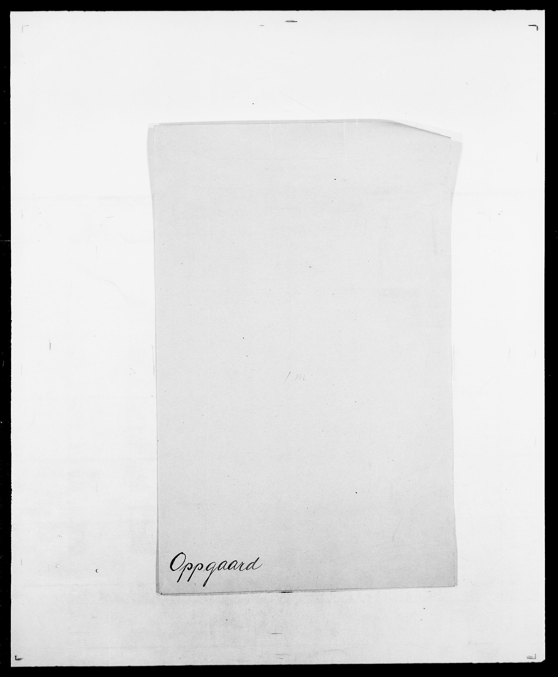 SAO, Delgobe, Charles Antoine - samling, D/Da/L0029: Obel - Oxholm, s. 380