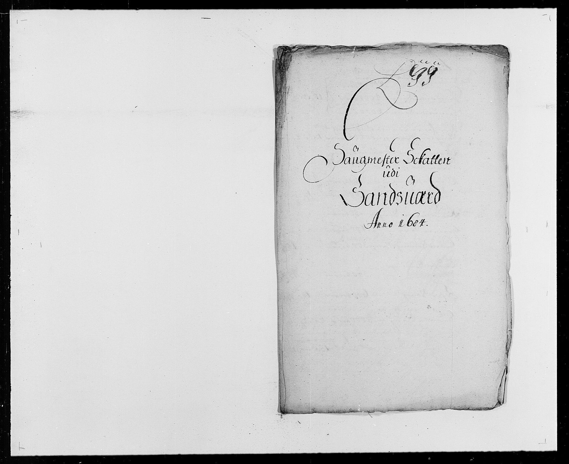RA, Rentekammeret inntil 1814, Reviderte regnskaper, Fogderegnskap, R24/L1571: Fogderegnskap Numedal og Sandsvær, 1679-1686, s. 206