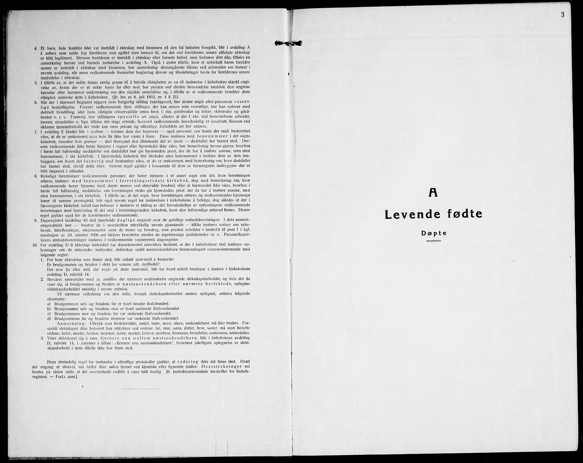 SATØ, Tranøy sokneprestkontor, I/Ia/Iab/L0016klokker: Klokkerbok nr. 16, 1930-1945, s. 3
