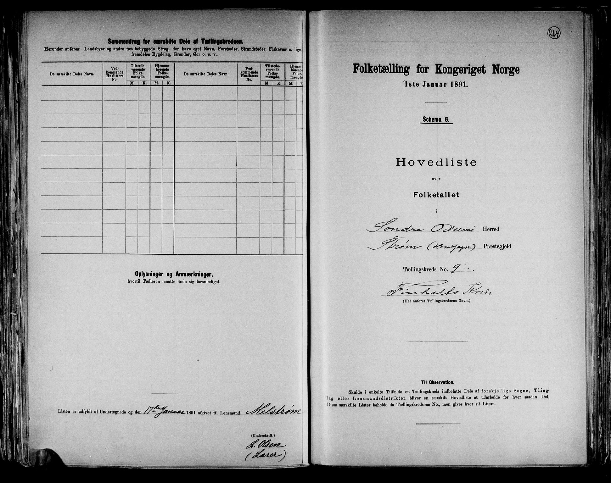 RA, Folketelling 1891 for 0419 Sør-Odal herred, 1891, s. 26