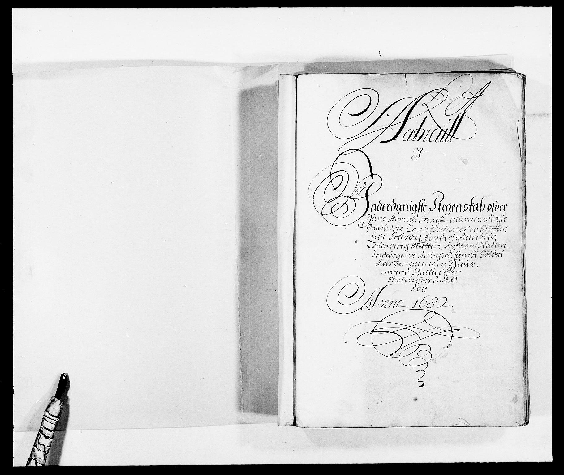 RA, Rentekammeret inntil 1814, Reviderte regnskaper, Fogderegnskap, R09/L0430: Fogderegnskap Follo, 1682-1683, s. 2