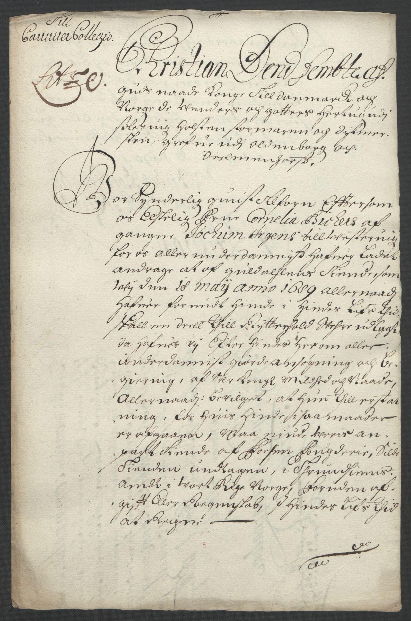 RA, Rentekammeret inntil 1814, Reviderte regnskaper, Fogderegnskap, R57/L3849: Fogderegnskap Fosen, 1692-1693, s. 205