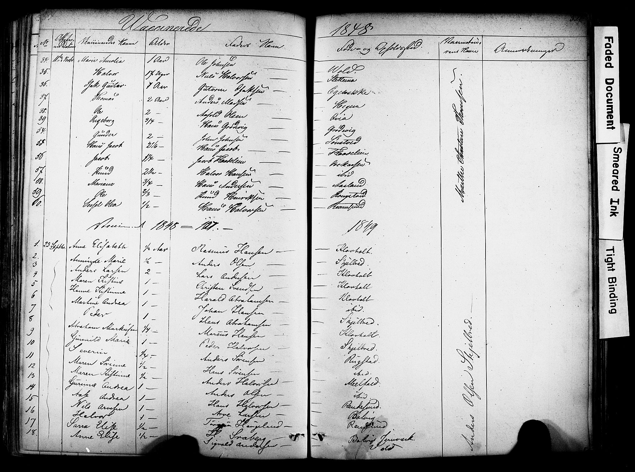 SAKO, Solum kirkebøker, F/Fa/L0006: Ministerialbok nr. I 6, 1844-1855, s. 526