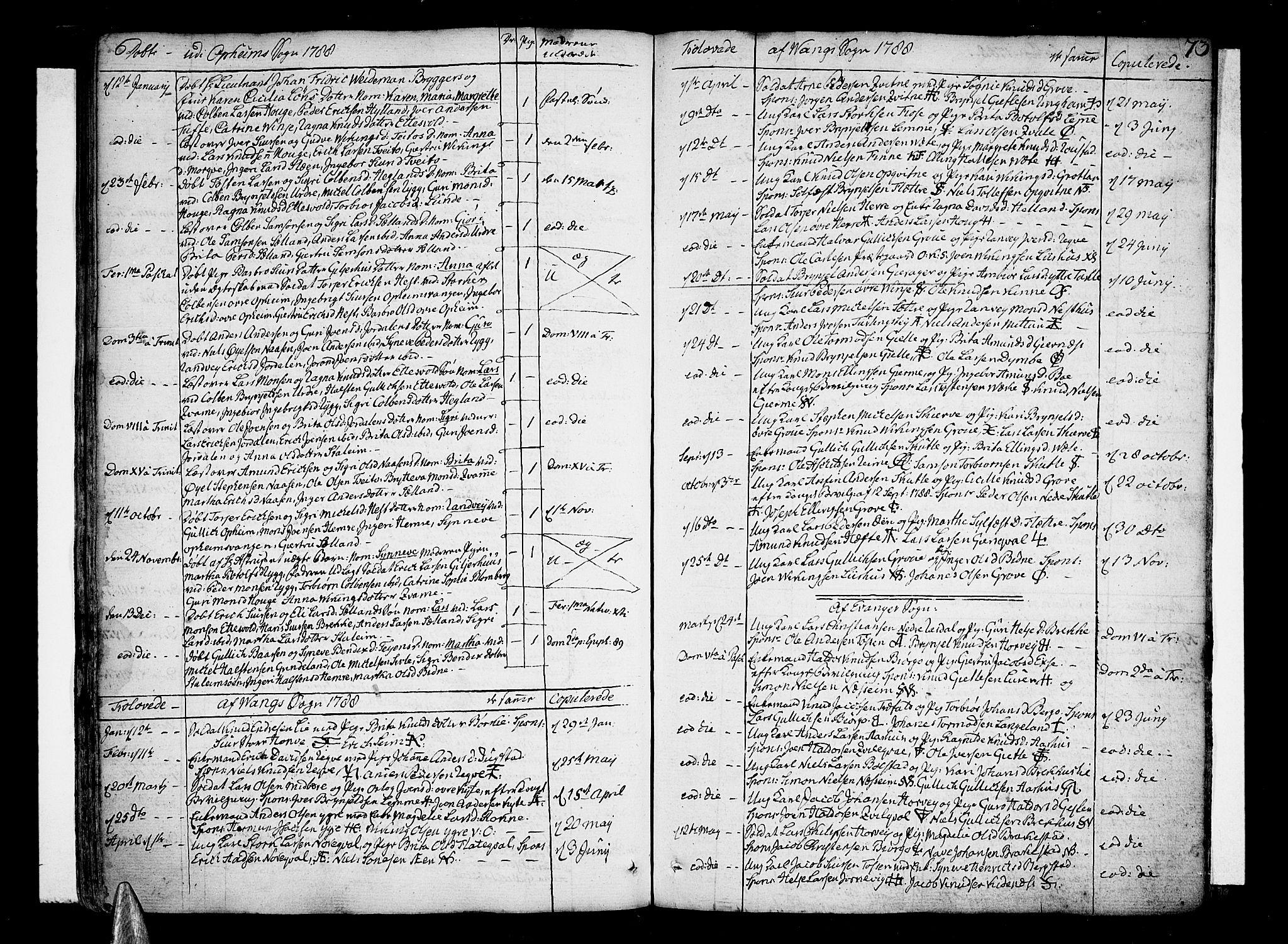 SAB, Voss Sokneprestembete, H/Haa: Ministerialbok nr. A 9, 1780-1810, s. 73
