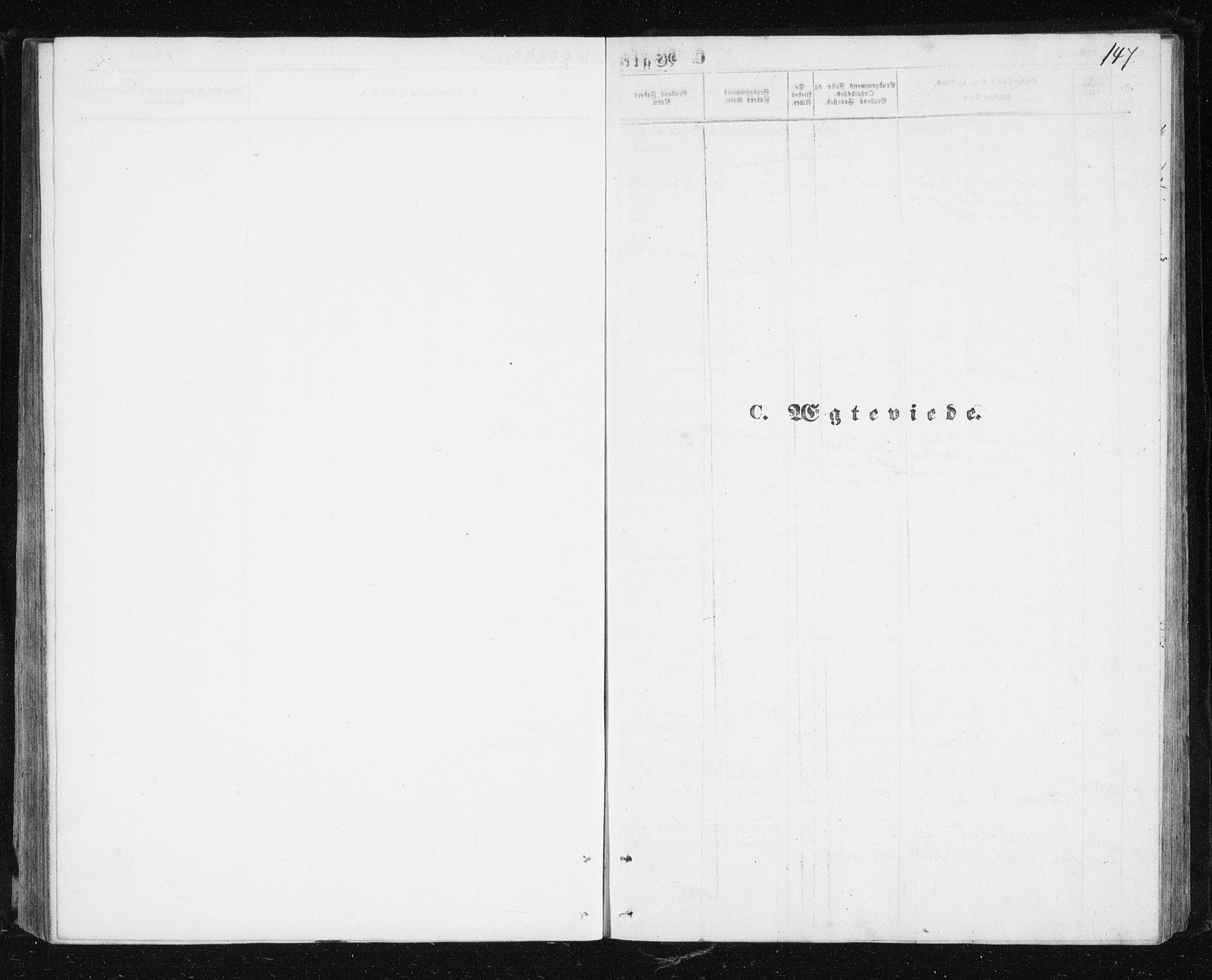 SATØ, Lenvik sokneprestembete, H/Ha: Klokkerbok nr. 4, 1859-1869, s. 147