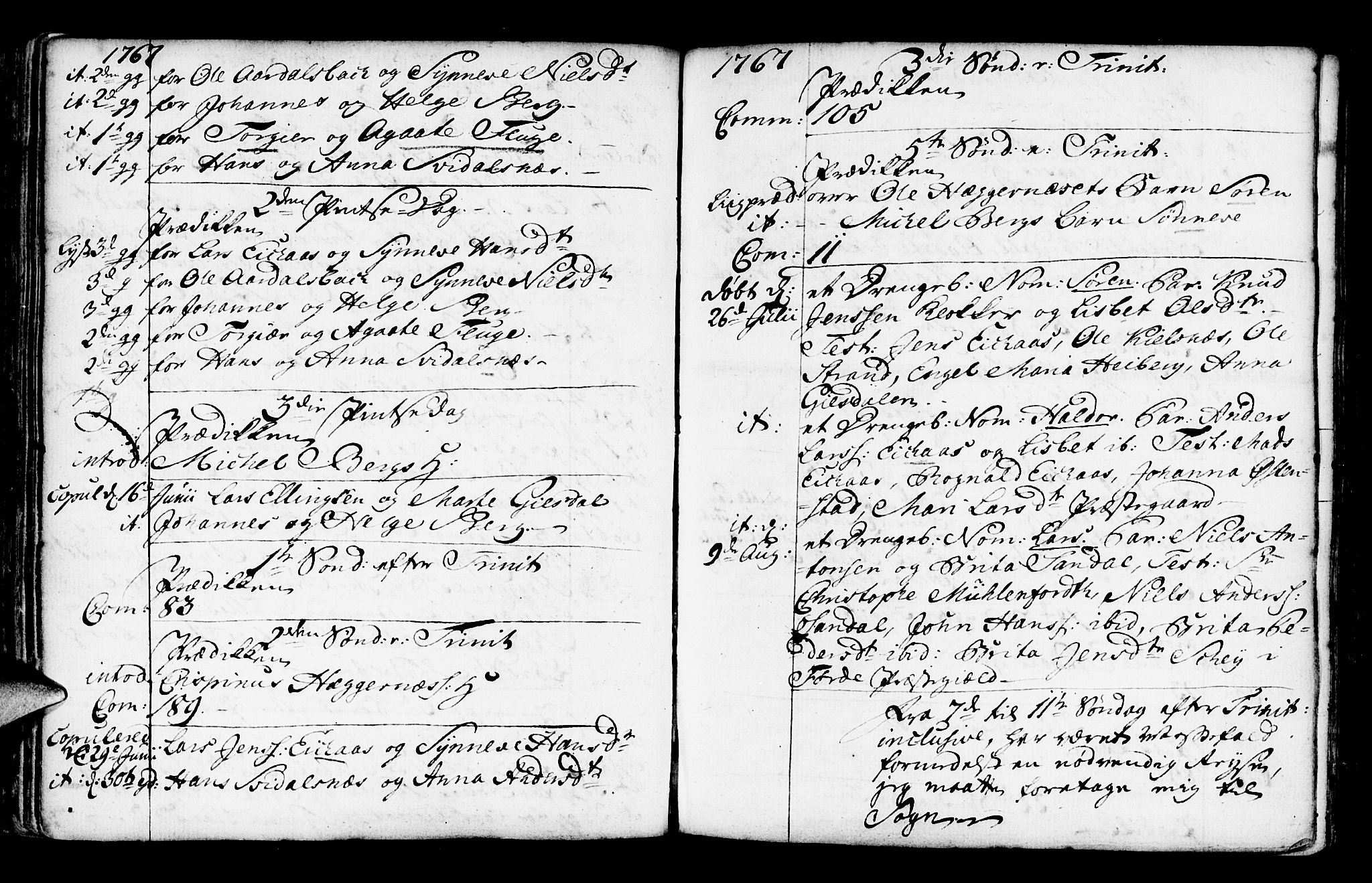 SAB, Jølster Sokneprestembete, Ministerialbok nr. A 3, 1748-1789, s. 117