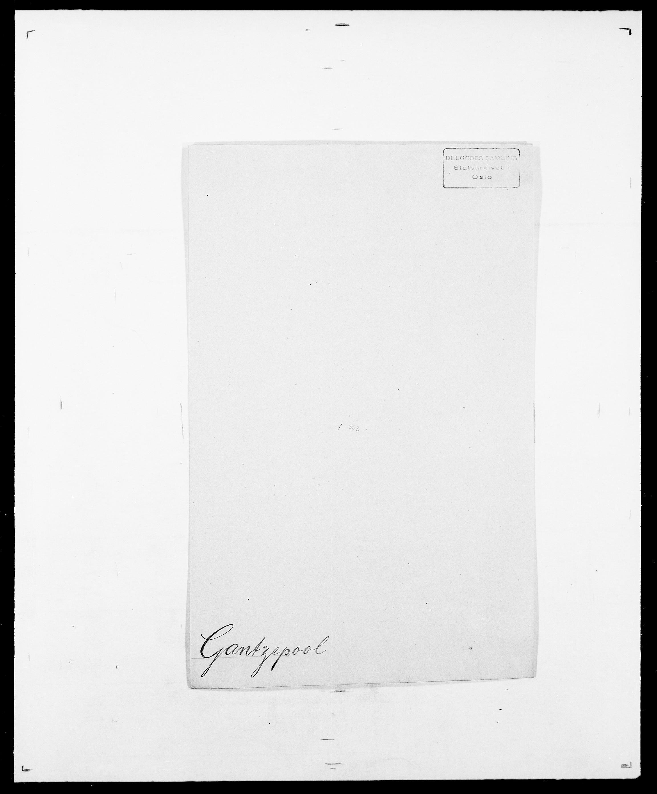 SAO, Delgobe, Charles Antoine - samling, D/Da/L0013: Forbos - Geving, s. 492