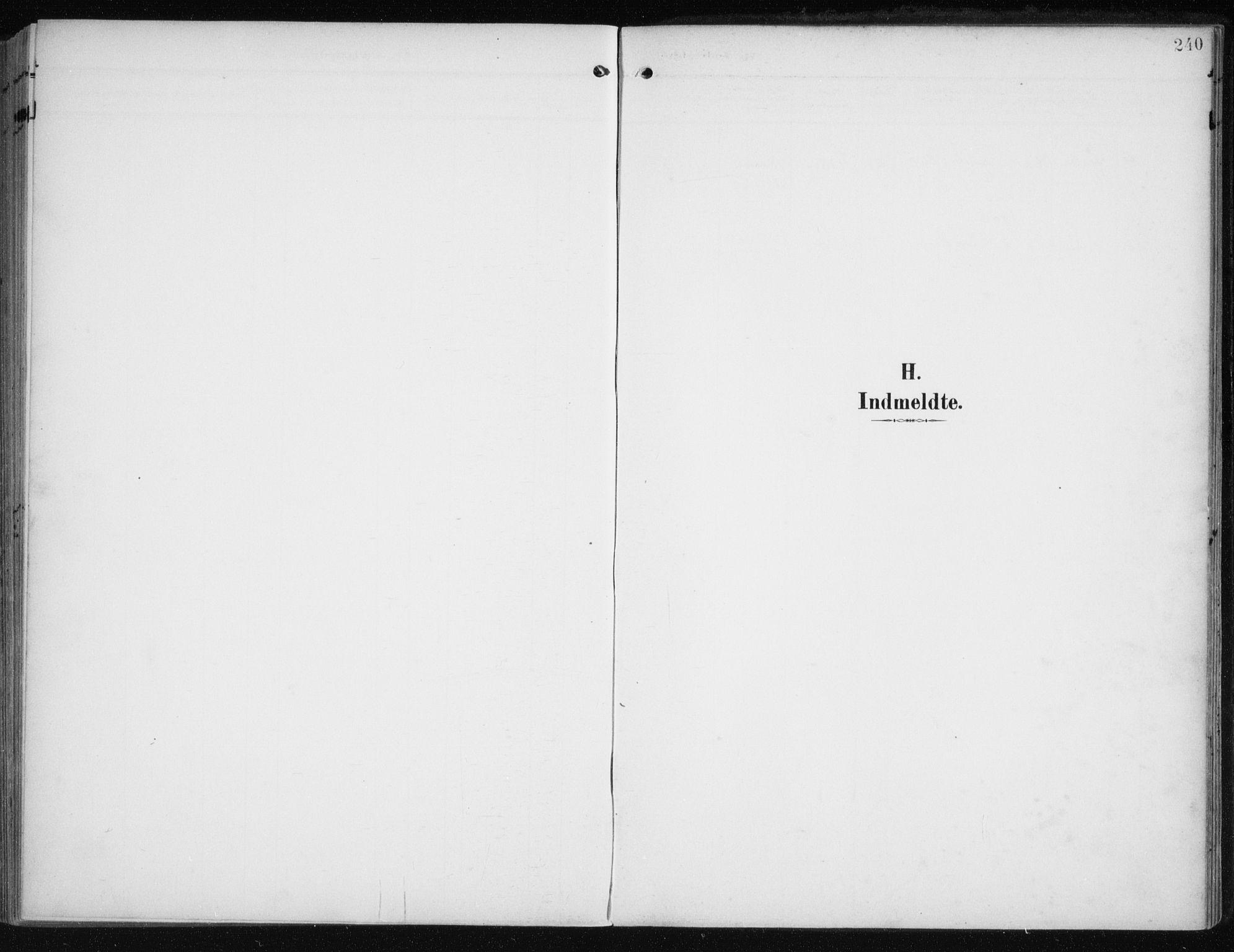 SATØ, Måsøy sokneprestkontor, H/Ha/L0009kirke: Ministerialbok nr. 9, 1903-1914, s. 240