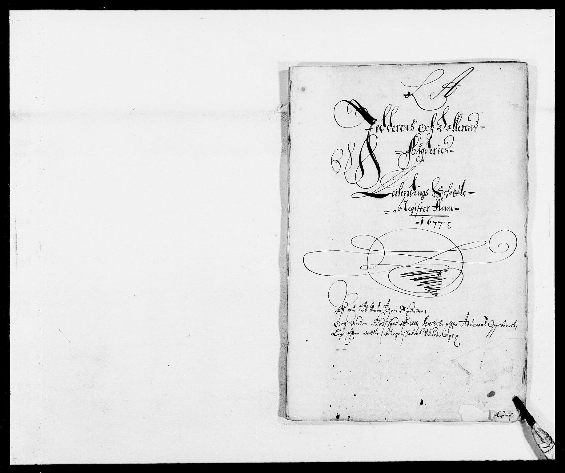 RA, Rentekammeret inntil 1814, Reviderte regnskaper, Fogderegnskap, R46/L2717: Fogderegnskap Jæren og Dalane, 1677, s. 28