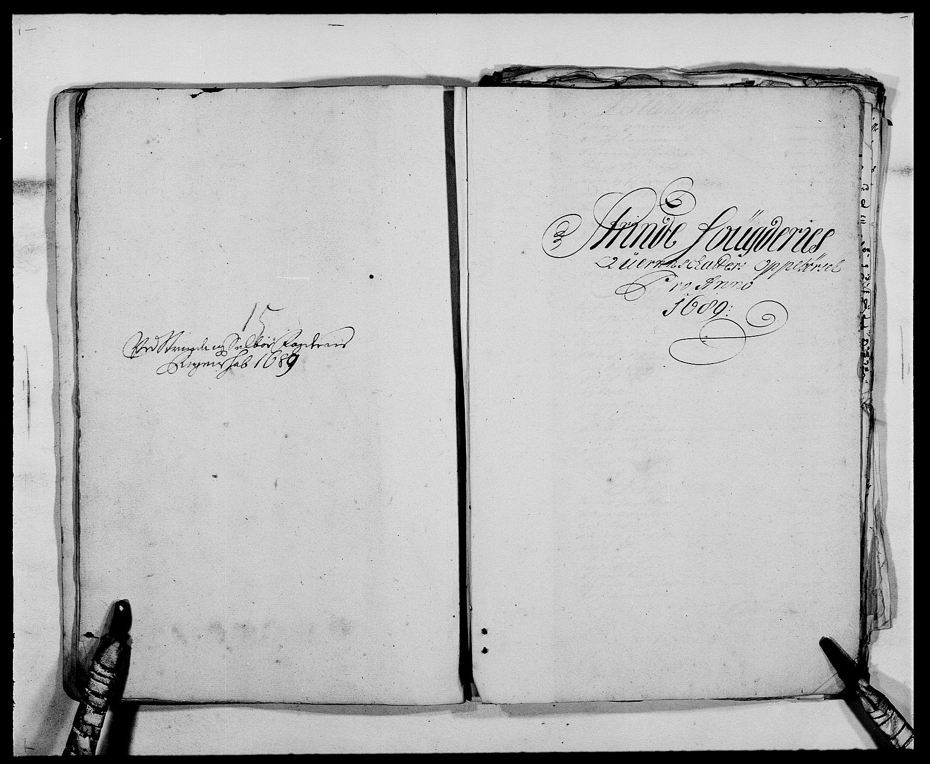 RA, Rentekammeret inntil 1814, Reviderte regnskaper, Fogderegnskap, R61/L4102: Fogderegnskap Strinda og Selbu, 1689-1690, s. 96