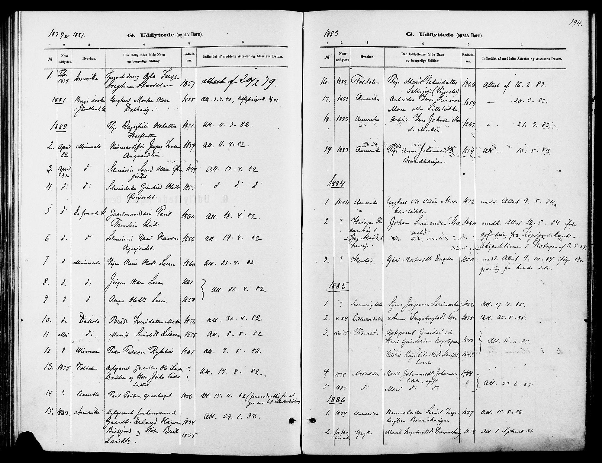 SAH, Dovre prestekontor, Ministerialbok nr. 2, 1879-1890, s. 194