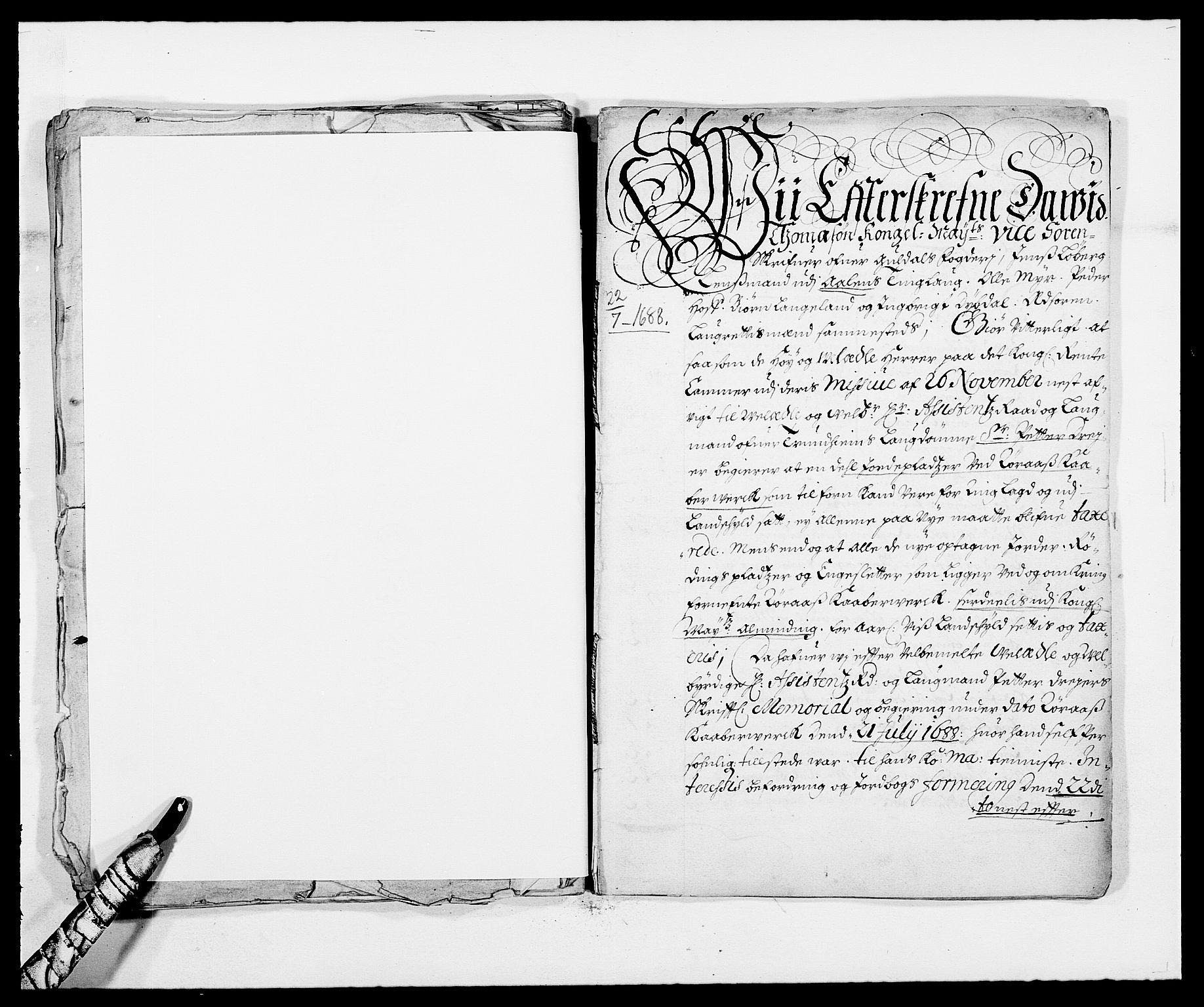 RA, Rentekammeret inntil 1814, Reviderte regnskaper, Fogderegnskap, R59/L3939: Fogderegnskap Gauldal, 1687-1688, s. 347
