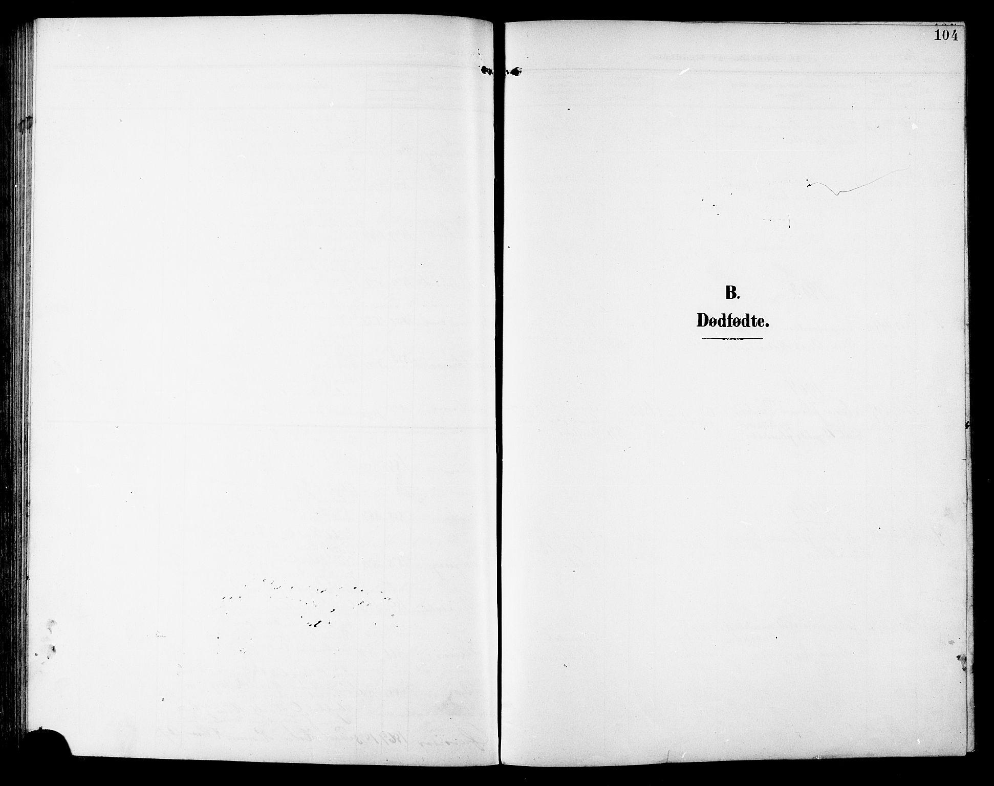 SAT, Ministerialprotokoller, klokkerbøker og fødselsregistre - Sør-Trøndelag, 672/L0864: Klokkerbok nr. 672C03, 1902-1914, s. 104