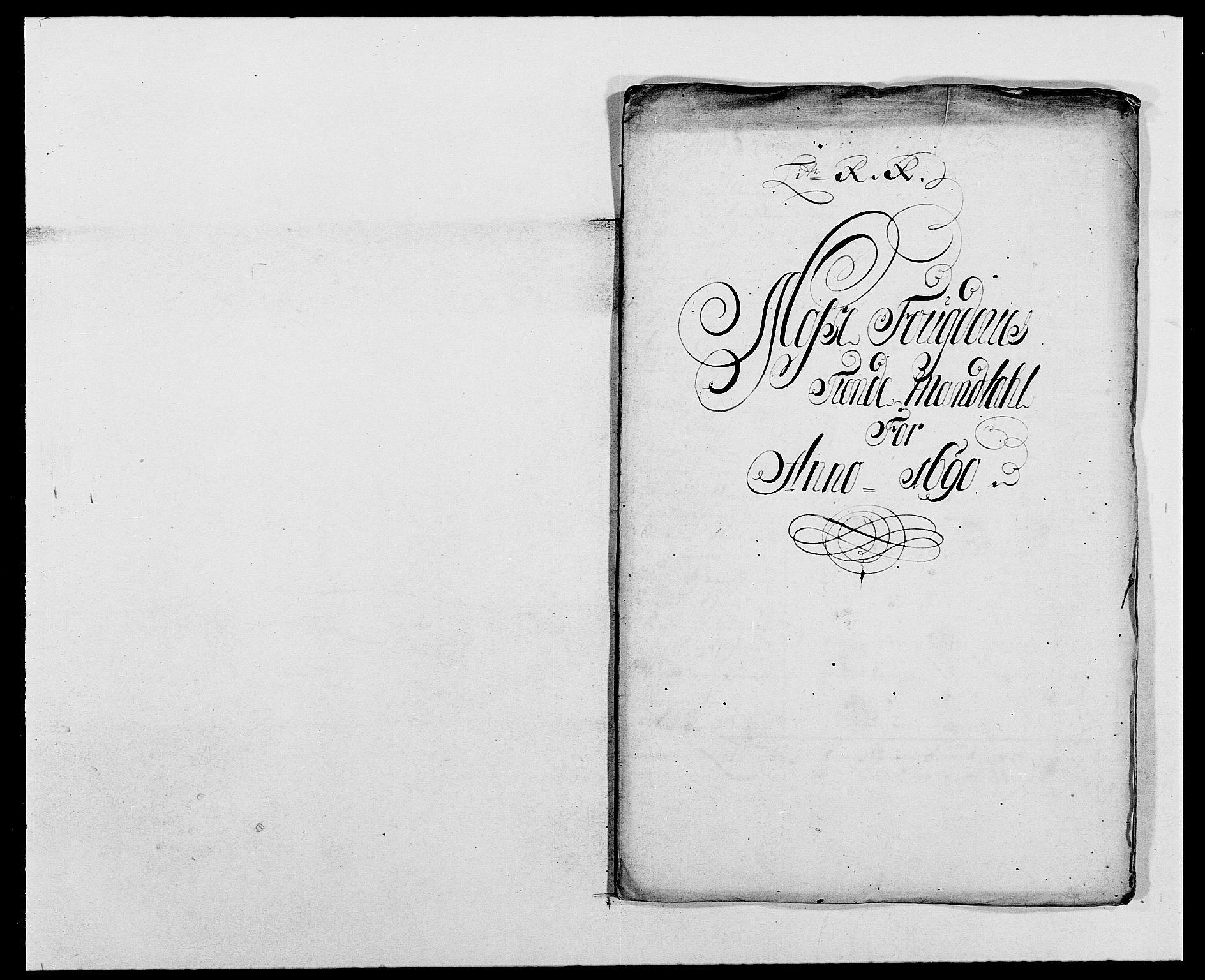 RA, Rentekammeret inntil 1814, Reviderte regnskaper, Fogderegnskap, R02/L0106: Fogderegnskap Moss og Verne kloster, 1688-1691, s. 319