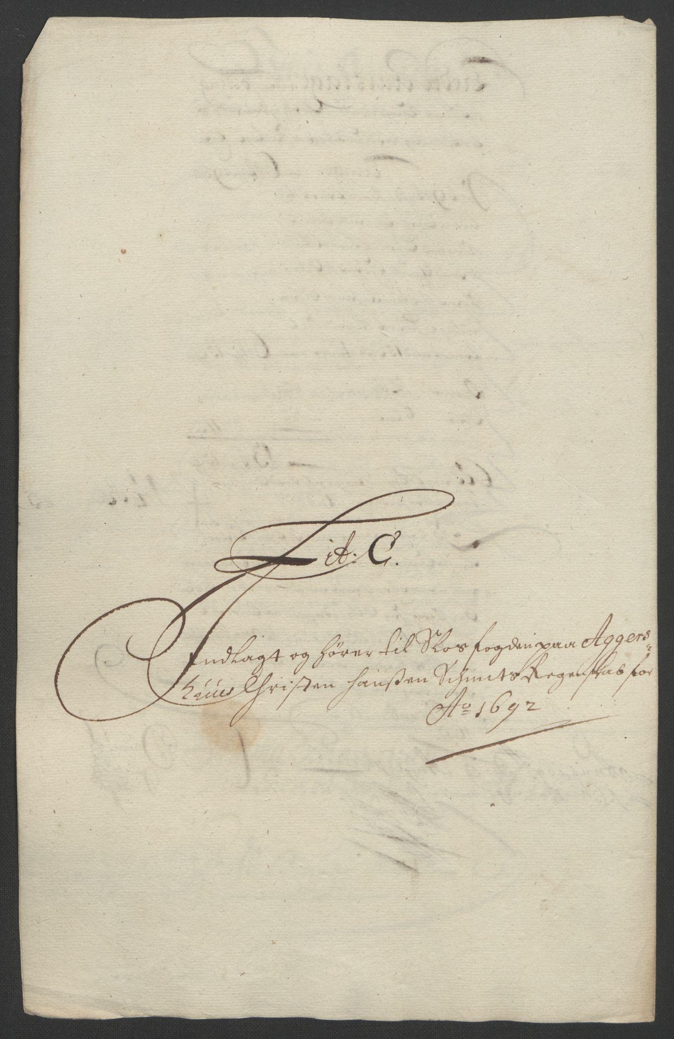 RA, Rentekammeret inntil 1814, Reviderte regnskaper, Fogderegnskap, R08/L0426: Fogderegnskap Aker, 1692-1693, s. 80