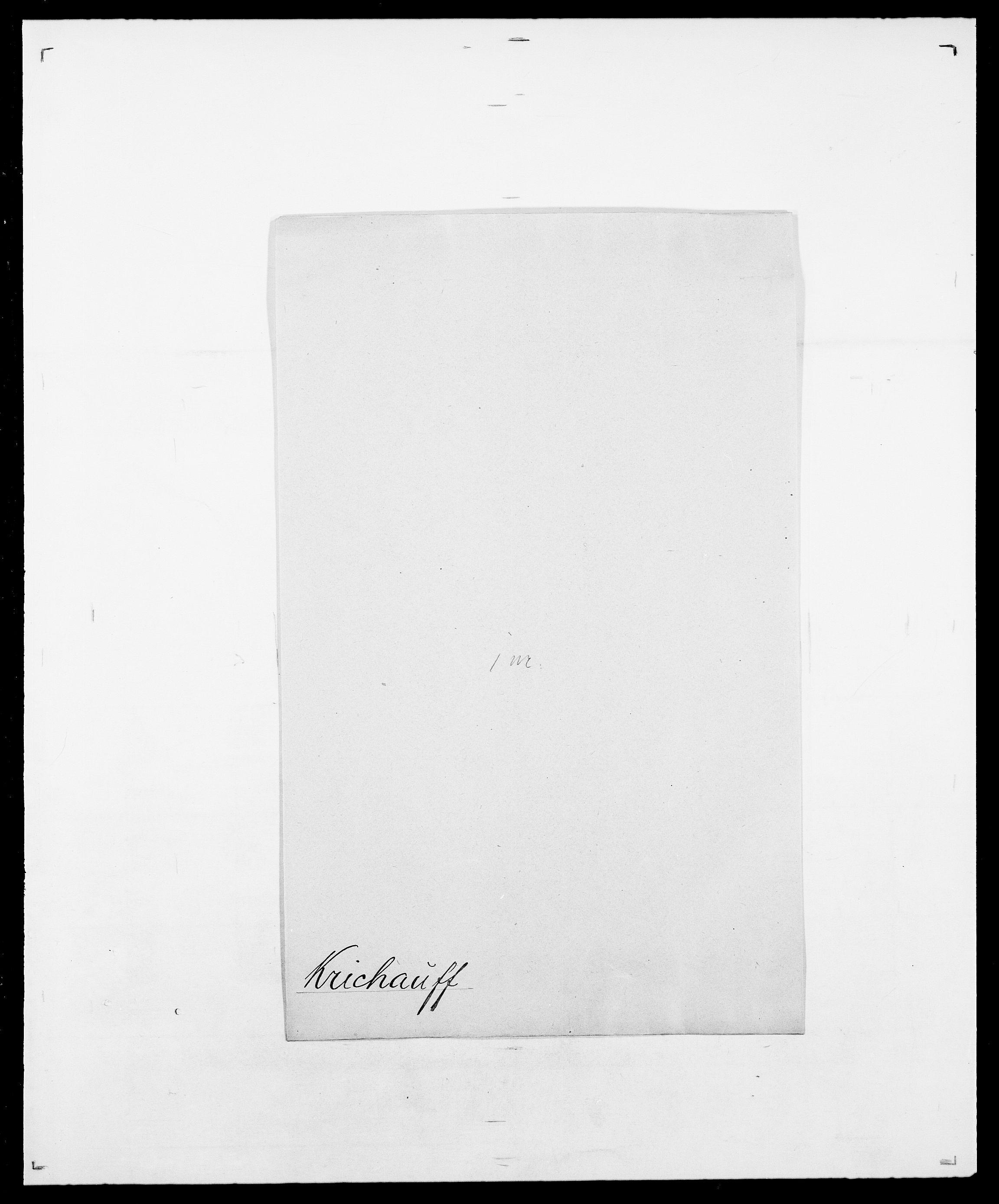 SAO, Delgobe, Charles Antoine - samling, D/Da/L0021: Klagenberg - Kristoft, s. 793