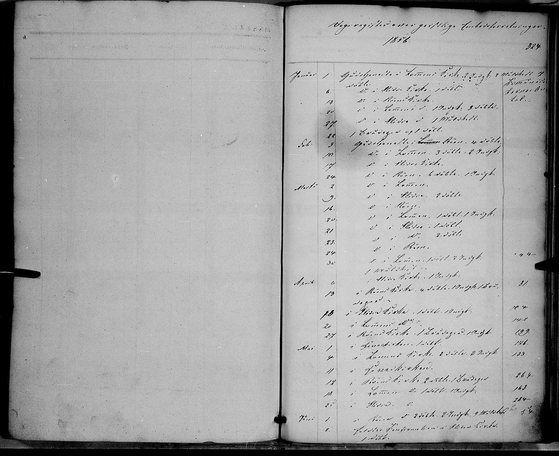 SAH, Vestre Slidre prestekontor, Ministerialbok nr. 2, 1856-1864, s. 324