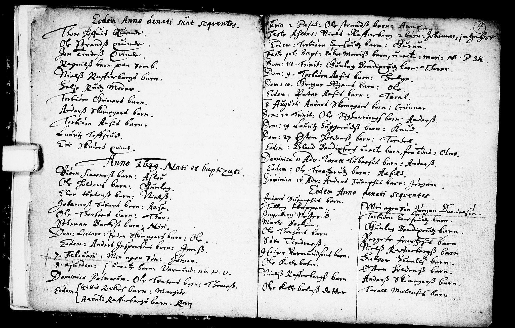 SAKO, Heddal kirkebøker, F/Fa/L0001: Ministerialbok nr. I 1, 1648-1699, s. 4