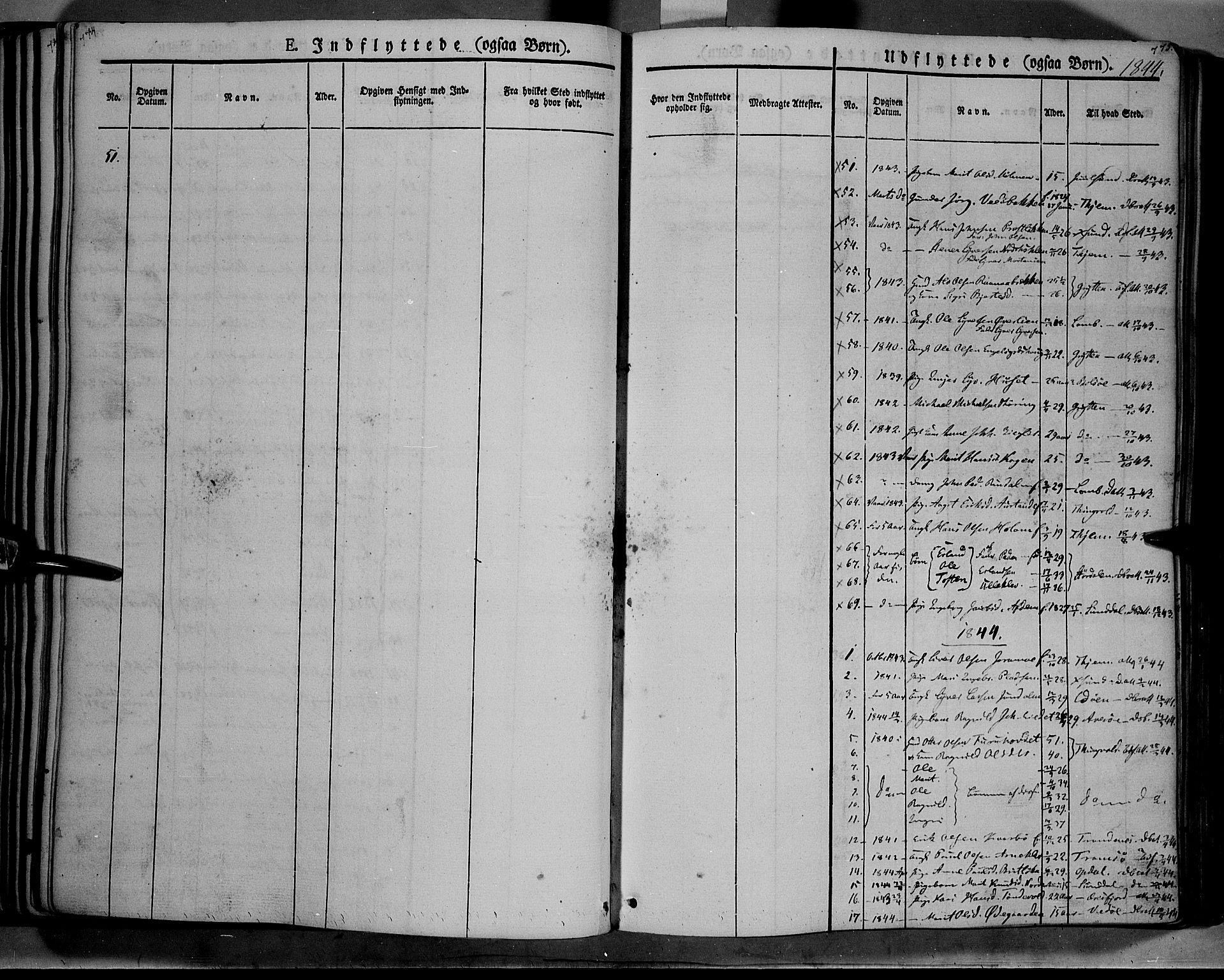 SAH, Lesja prestekontor, Ministerialbok nr. 6B, 1843-1854, s. 774-775