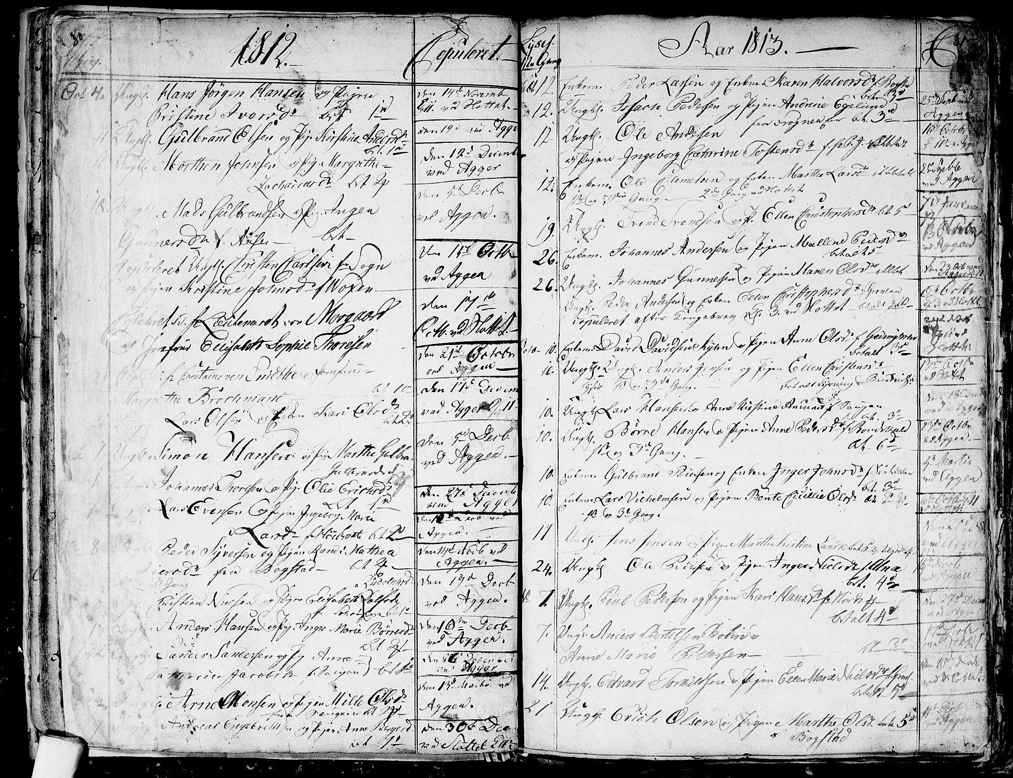 SAO, Aker prestekontor kirkebøker, G/L0001: Klokkerbok nr. 1, 1796-1826, s. 30-31