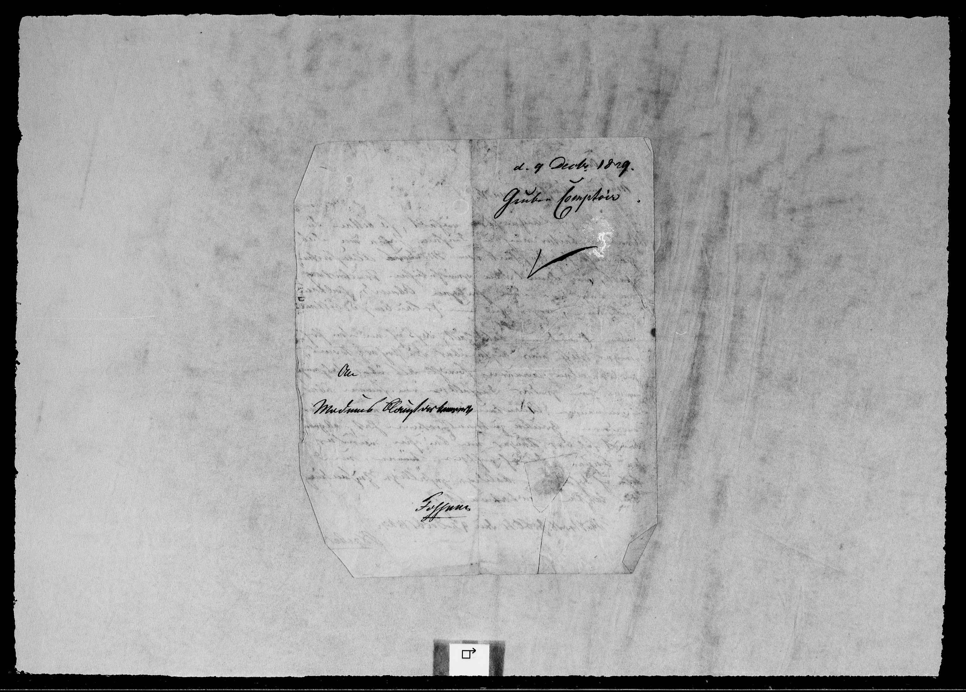 RA, Modums Blaafarveværk, G/Gb/L0103, 1829-1830, s. 2