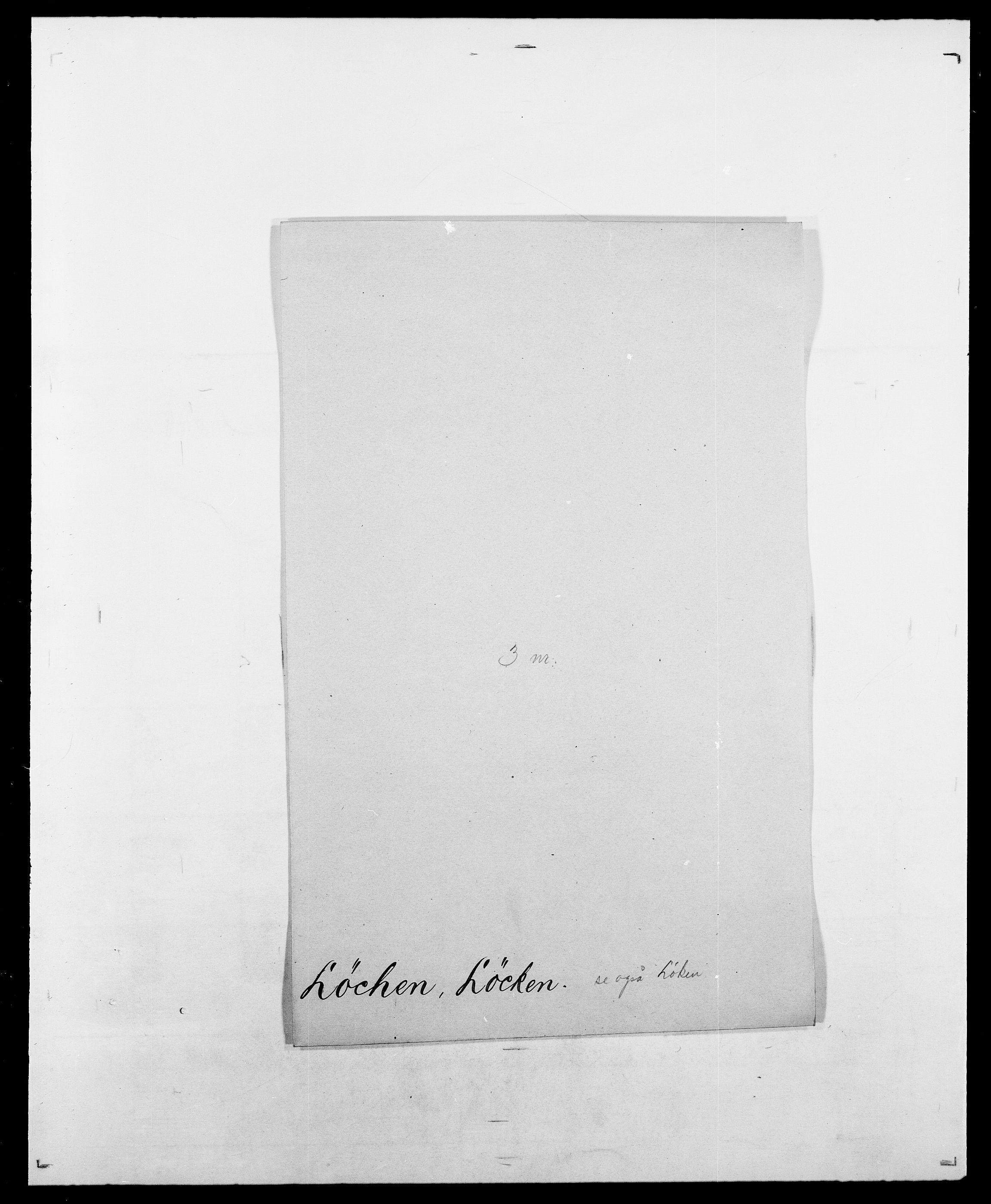 SAO, Delgobe, Charles Antoine - samling, D/Da/L0025: Løberg - Mazar, s. 5