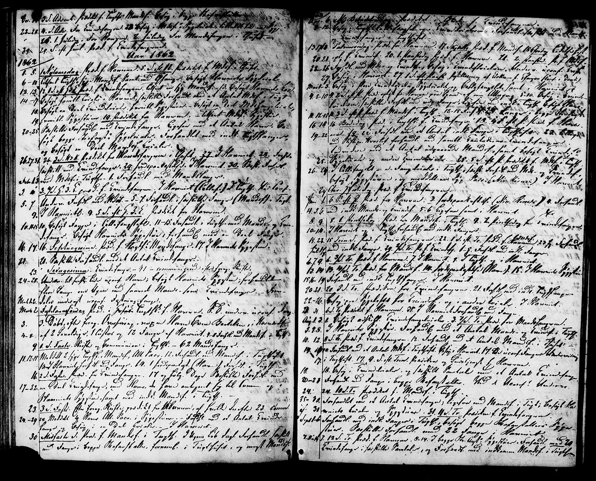 SAT, Ministerialprotokoller, klokkerbøker og fødselsregistre - Sør-Trøndelag, 624/L0481: Ministerialbok nr. 624A02, 1841-1869, s. 48