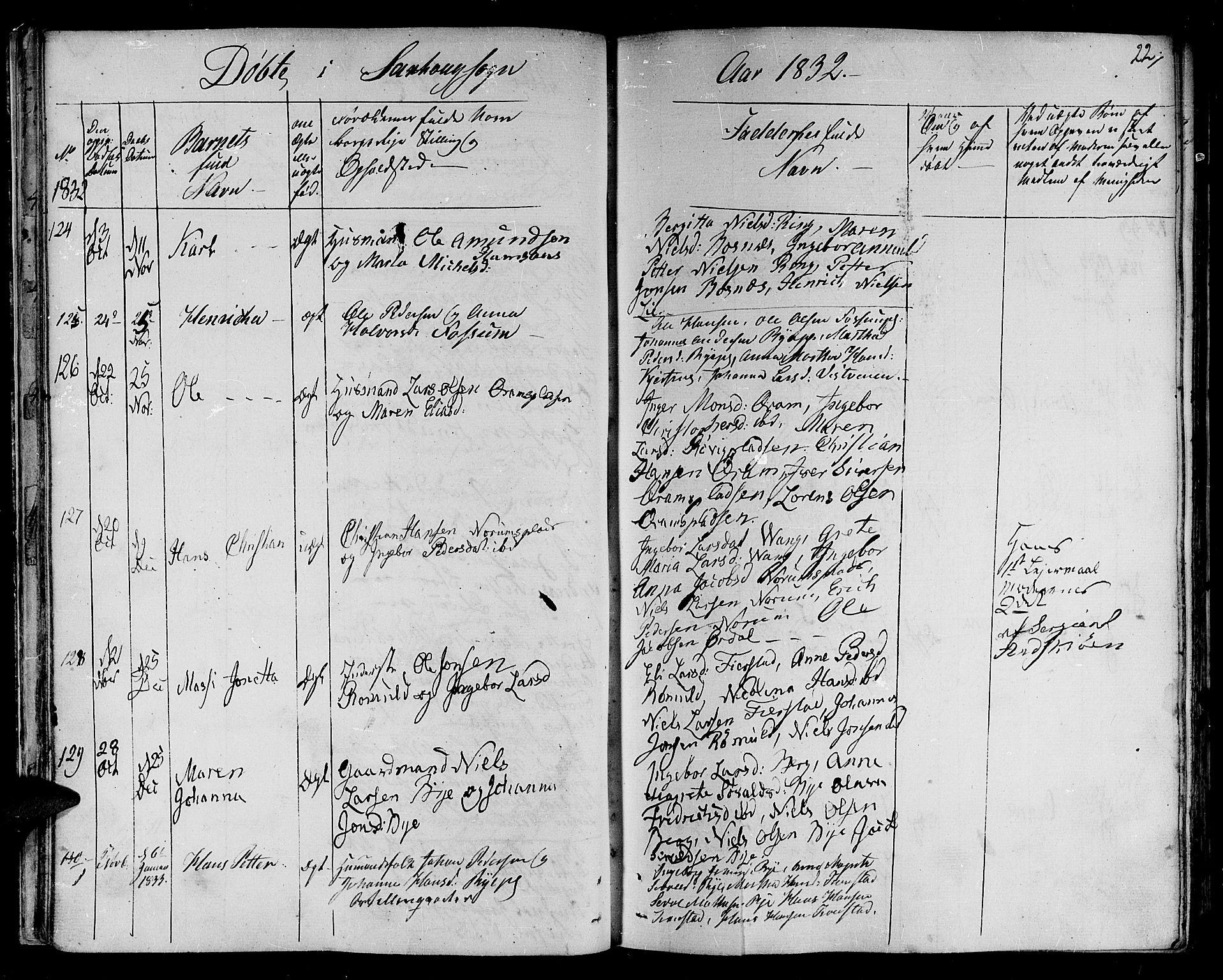 SAT, Ministerialprotokoller, klokkerbøker og fødselsregistre - Nord-Trøndelag, 730/L0277: Ministerialbok nr. 730A06 /1, 1830-1839, s. 22