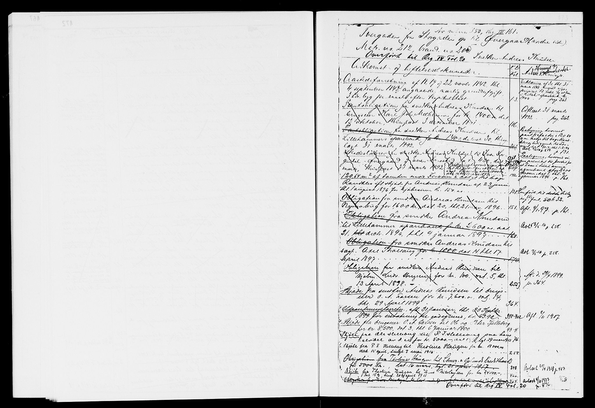 SAH, Sør-Gudbrandsdal tingrett, H/Ha/Haf/L0006D: Panteregister nr. 3.6D, 1873-1954, s. 472