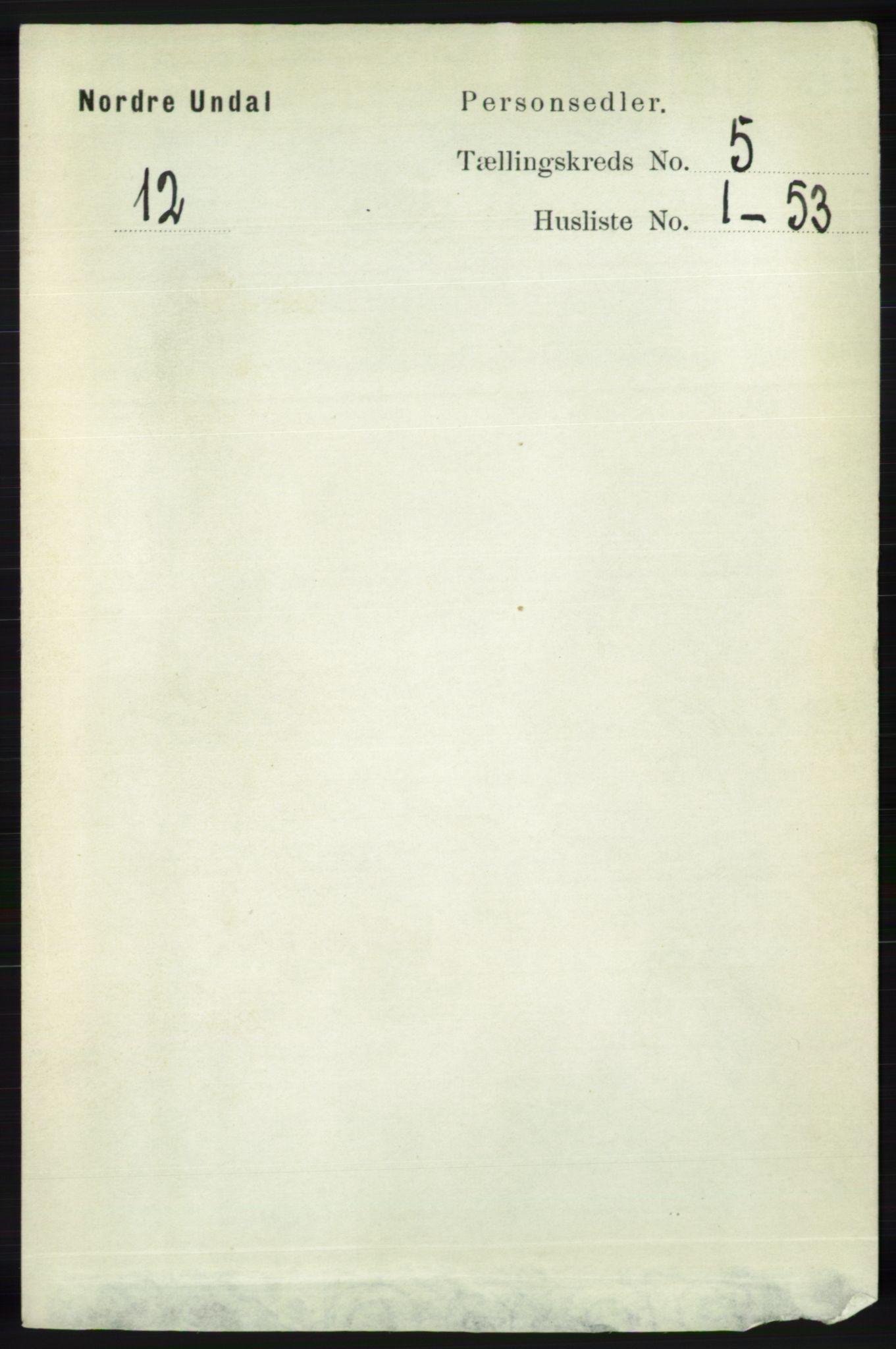RA, Folketelling 1891 for 1028 Nord-Audnedal herred, 1891, s. 1227