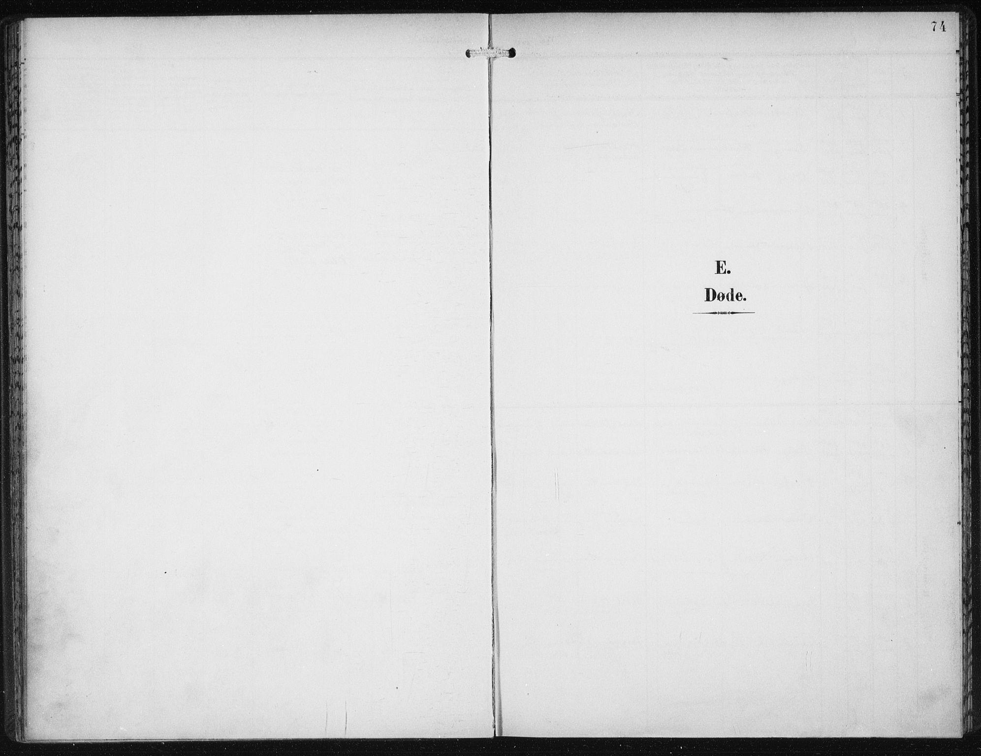 SAB, Den Norske Sjømannsmisjon i utlandet*, Ministerialbok nr. A 5, 1902-1908, s. 74