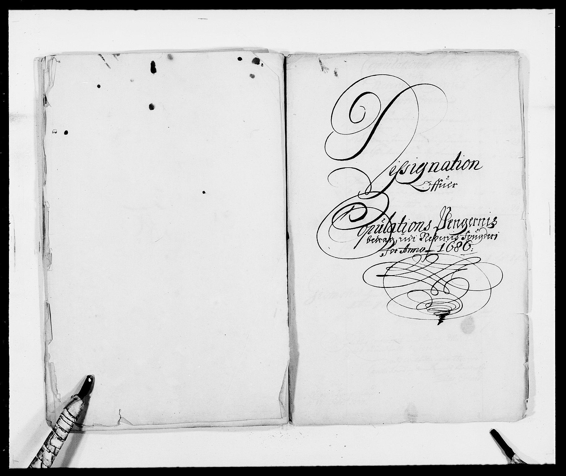 RA, Rentekammeret inntil 1814, Reviderte regnskaper, Fogderegnskap, R39/L2308: Fogderegnskap Nedenes, 1684-1689, s. 474