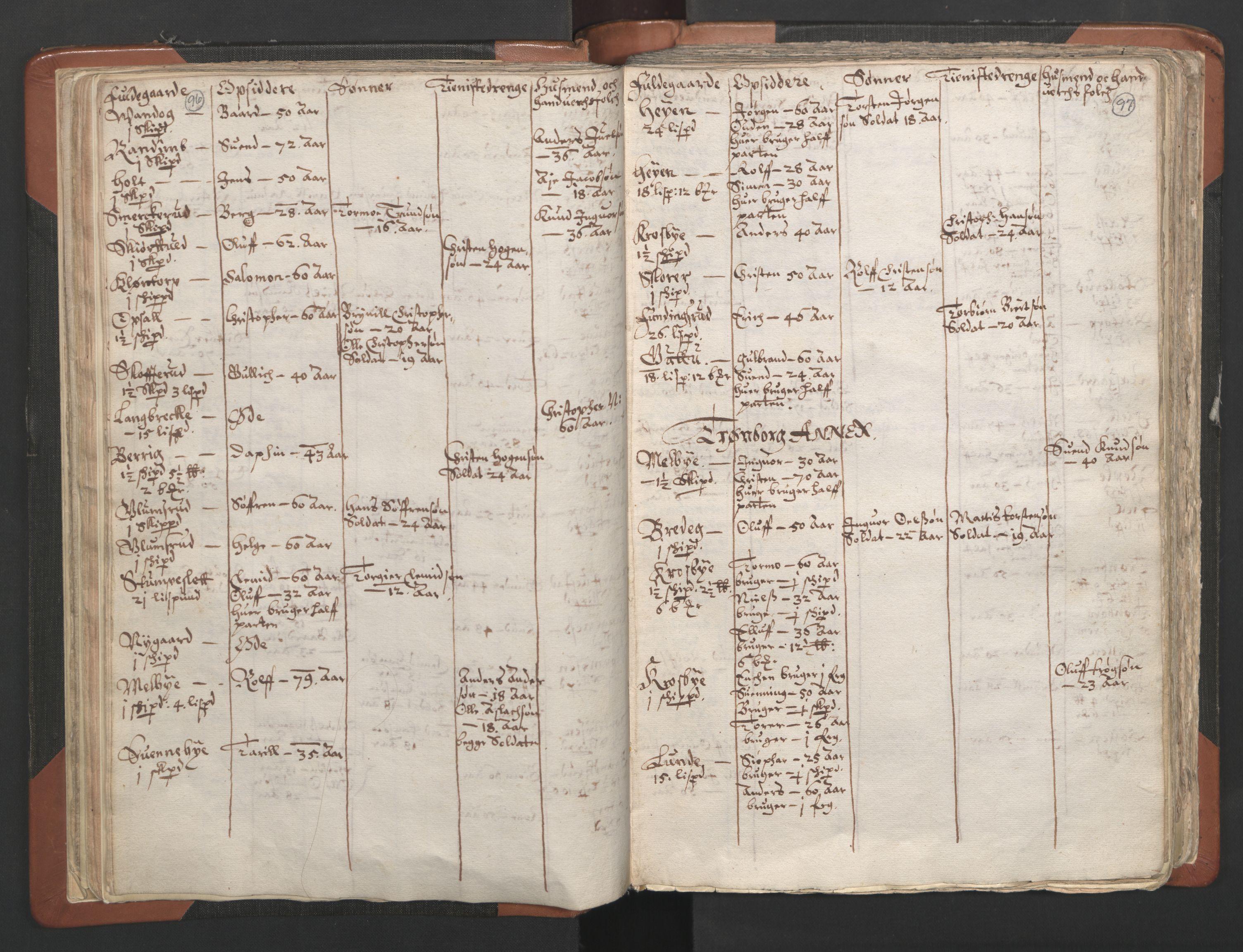 RA, Sogneprestenes manntall 1664-1666, nr. 2: Øvre Borgesyssel prosti, 1664-1666, s. 96-97
