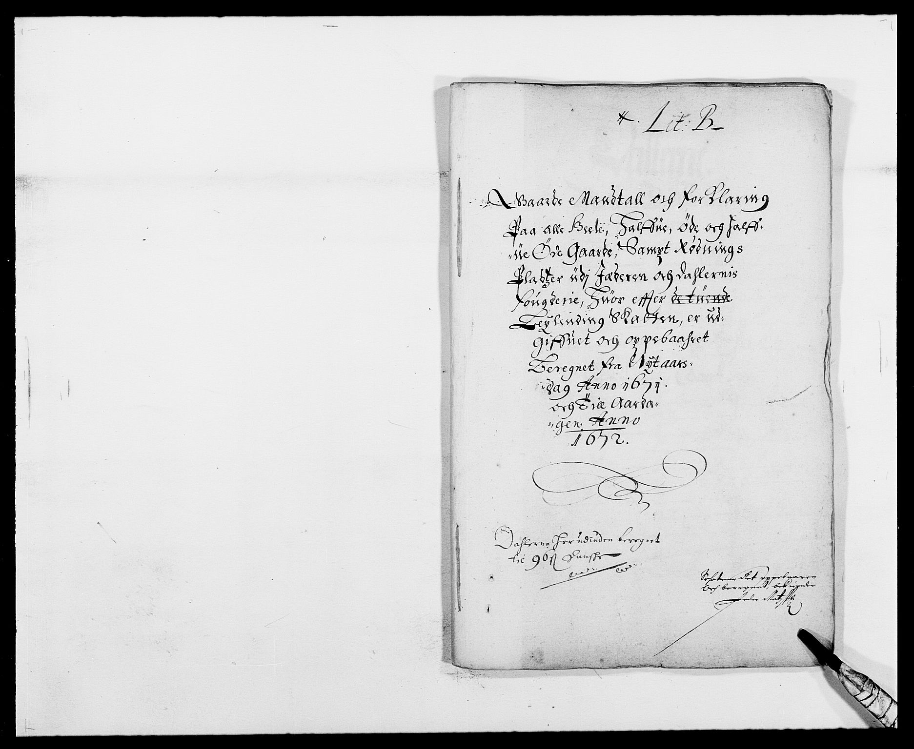 RA, Rentekammeret inntil 1814, Reviderte regnskaper, Fogderegnskap, R46/L2713: Fogderegnskap Jæren og Dalane, 1671-1672, s. 8