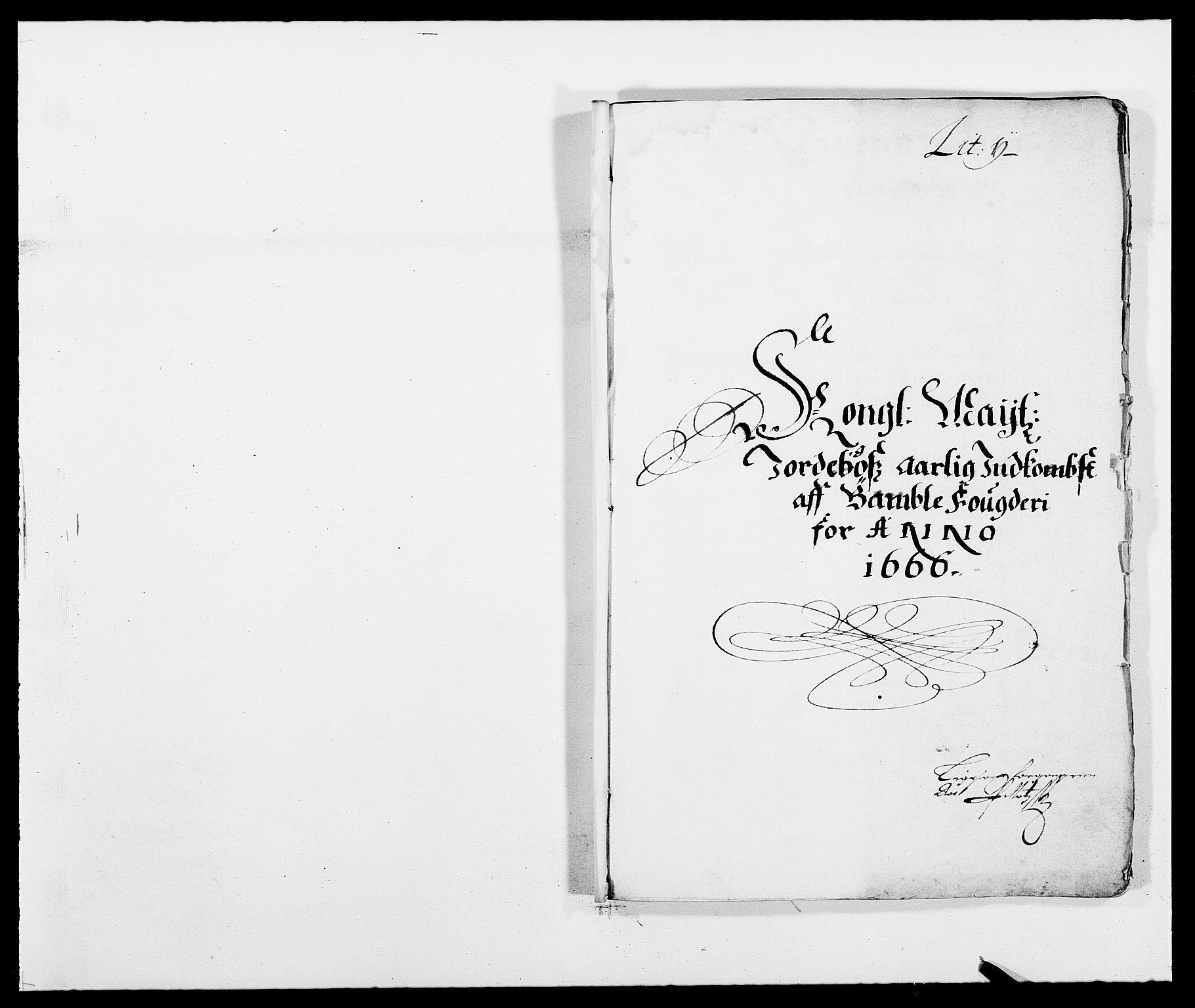 RA, Rentekammeret inntil 1814, Reviderte regnskaper, Fogderegnskap, R34/L2039: Fogderegnskap Bamble, 1662-1669, s. 102