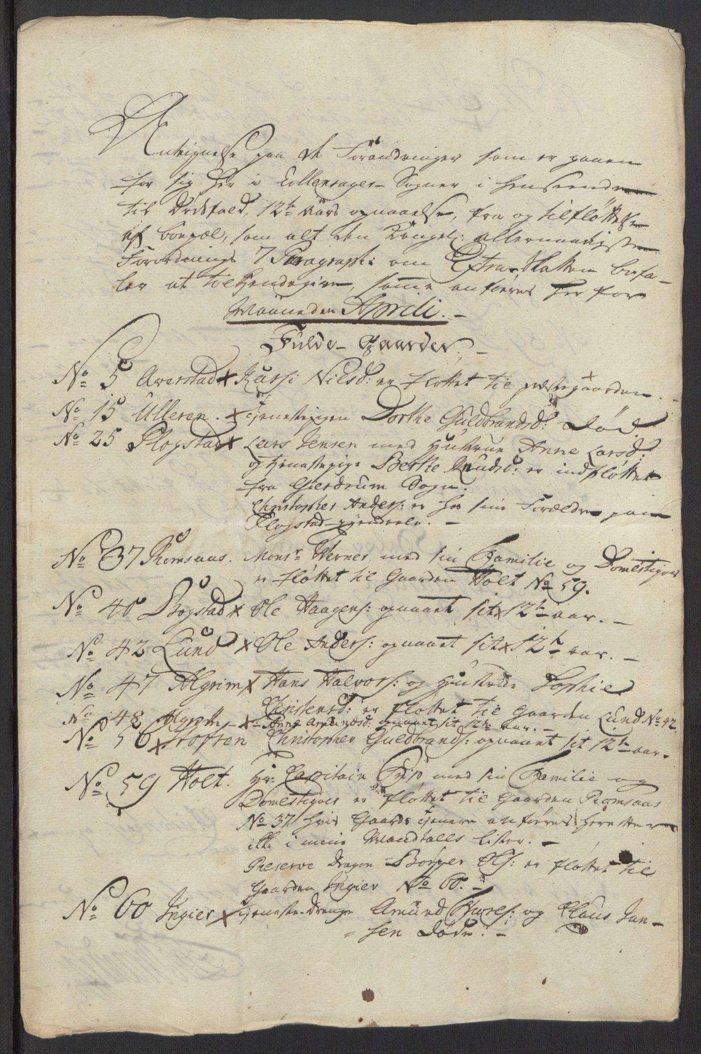 RA, Rentekammeret inntil 1814, Reviderte regnskaper, Fogderegnskap, R12/L0803: Ekstraskatten Øvre Romerike, 1763-1764, s. 66