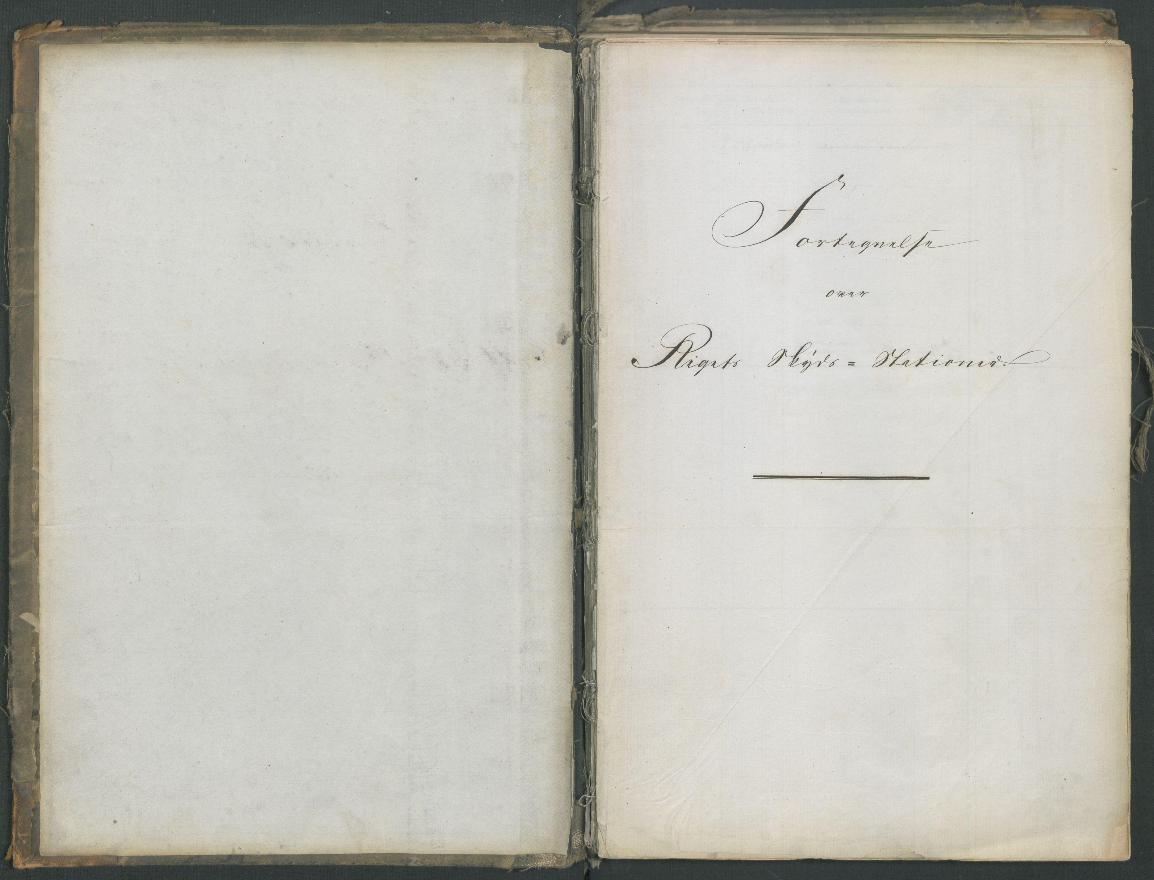RA, Samferdselsdepartementet, 4. postadministrasjonskontor, G/Ge/Gea/L0002: Fortegnelse over skysstasjoner, 1875, s. 2