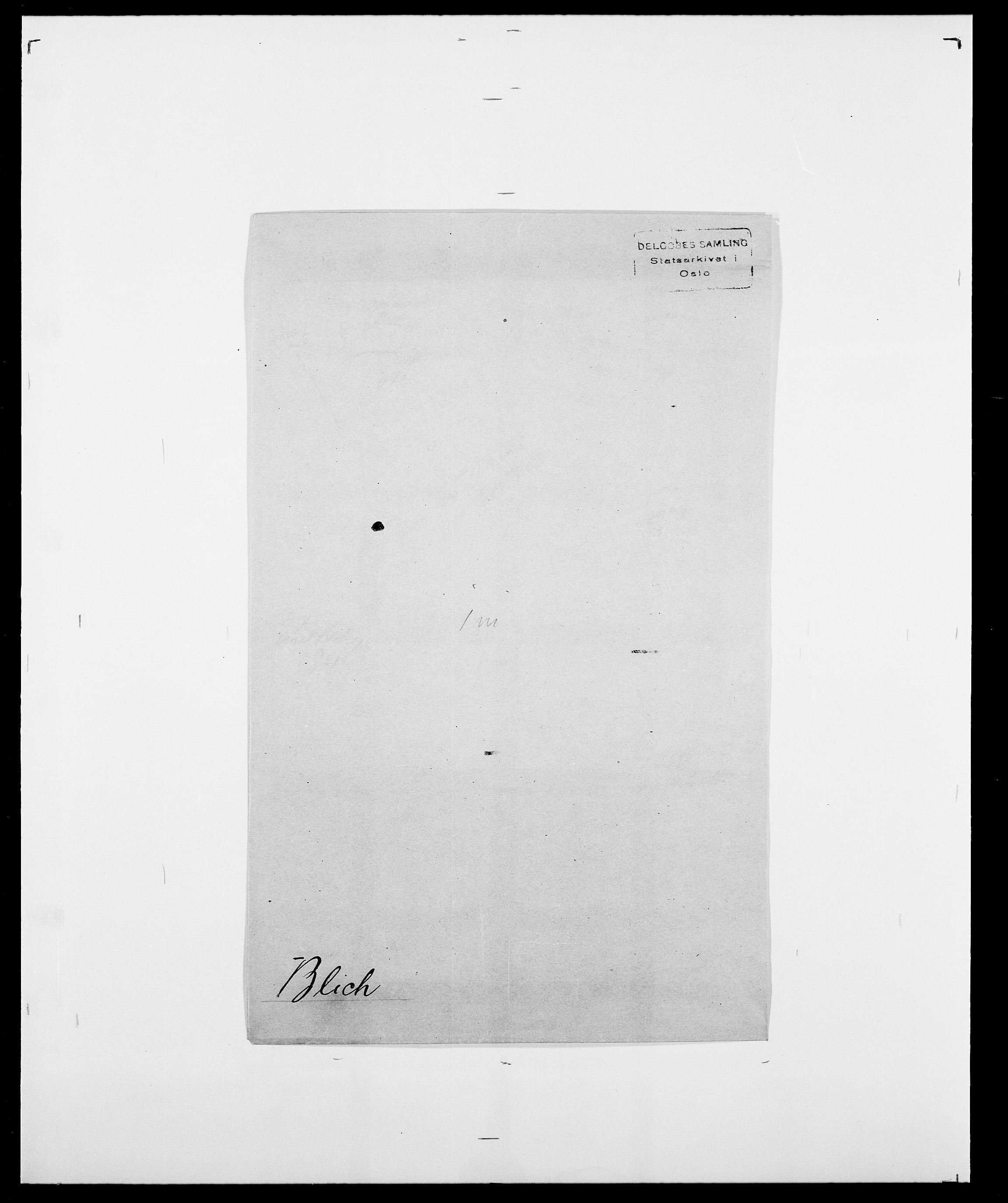 SAO, Delgobe, Charles Antoine - samling, D/Da/L0004: Bergendahl - Blære, s. 580