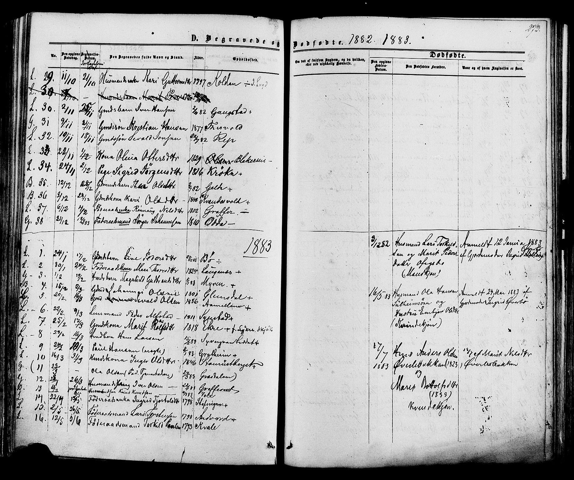SAH, Lom prestekontor, K/L0007: Ministerialbok nr. 7, 1863-1884, s. 273