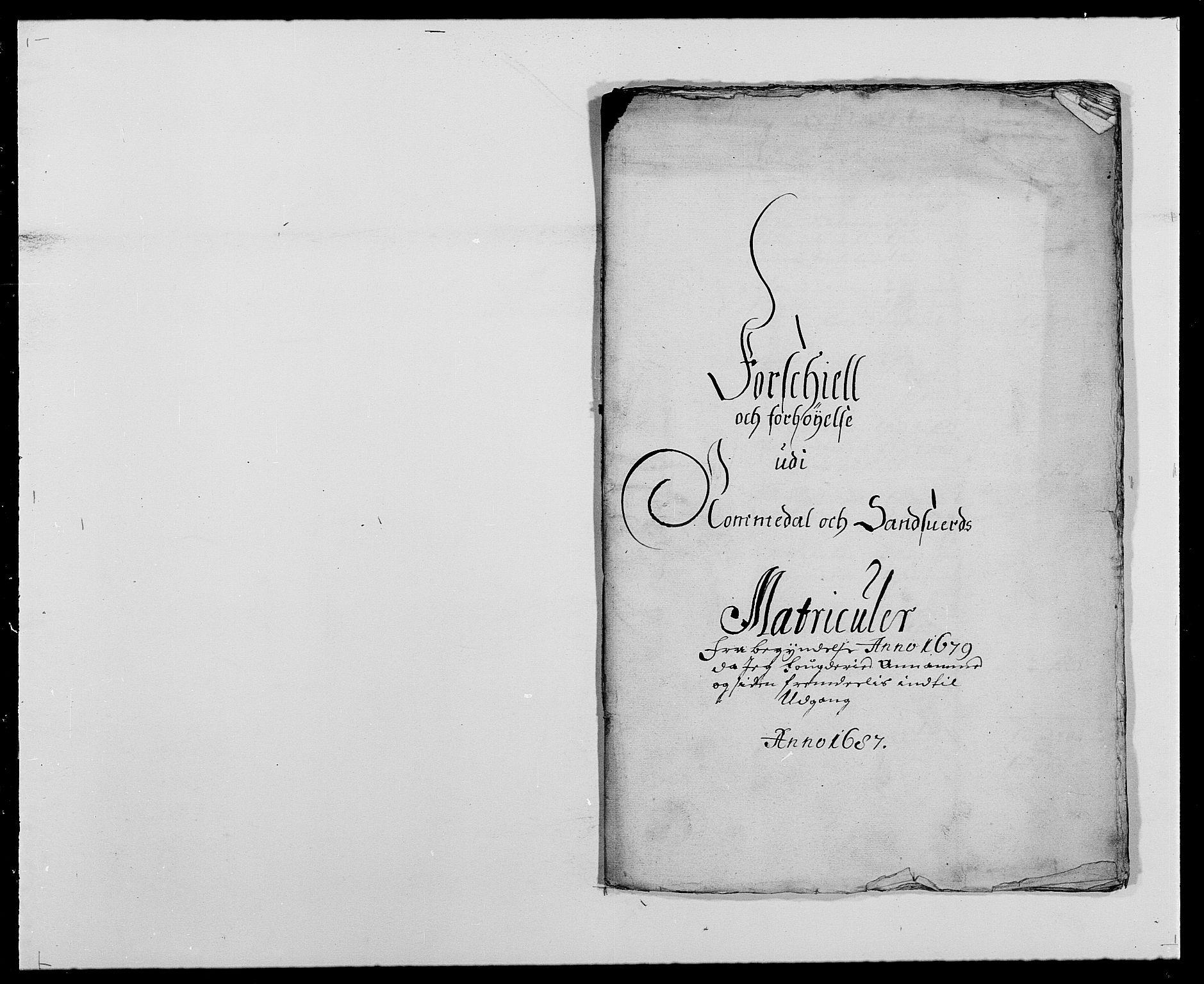 RA, Rentekammeret inntil 1814, Reviderte regnskaper, Fogderegnskap, R24/L1573: Fogderegnskap Numedal og Sandsvær, 1687-1691, s. 199